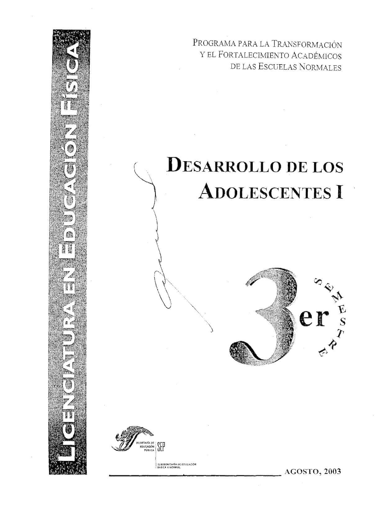 Calaméo - Desarrollo De Los Adolescentes I