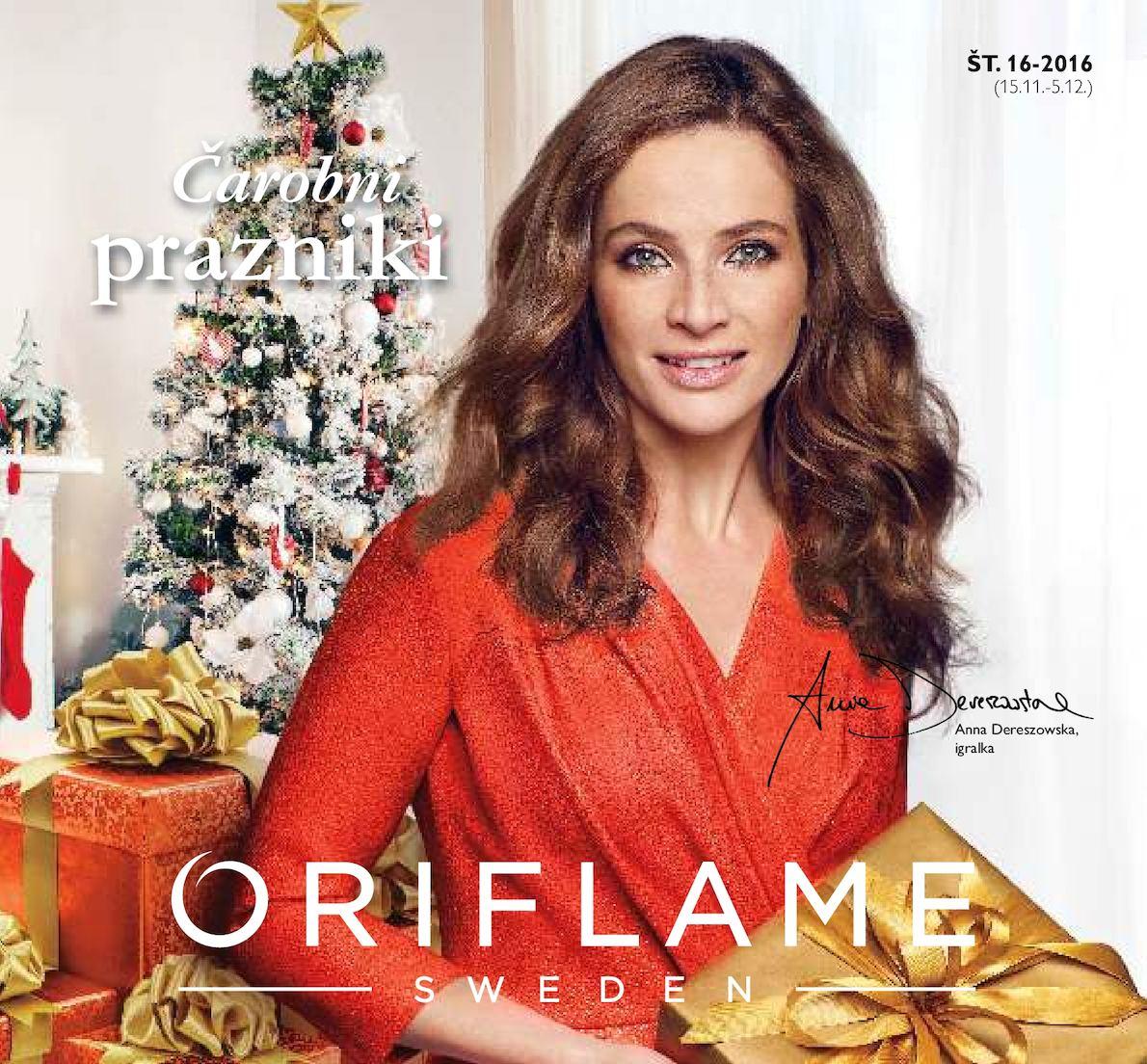 Oriflame Italia- Slovenia   catalogo 16   2016
