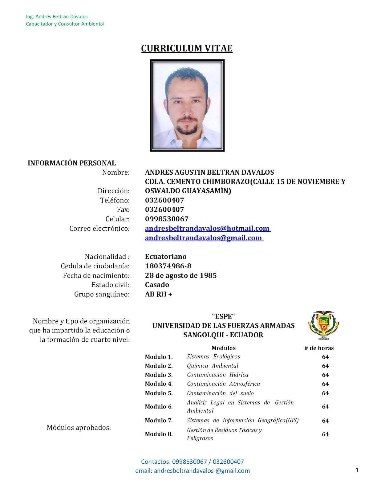 Calaméo - HOJA DE VIDA - ANDRÉS BELTRÁN