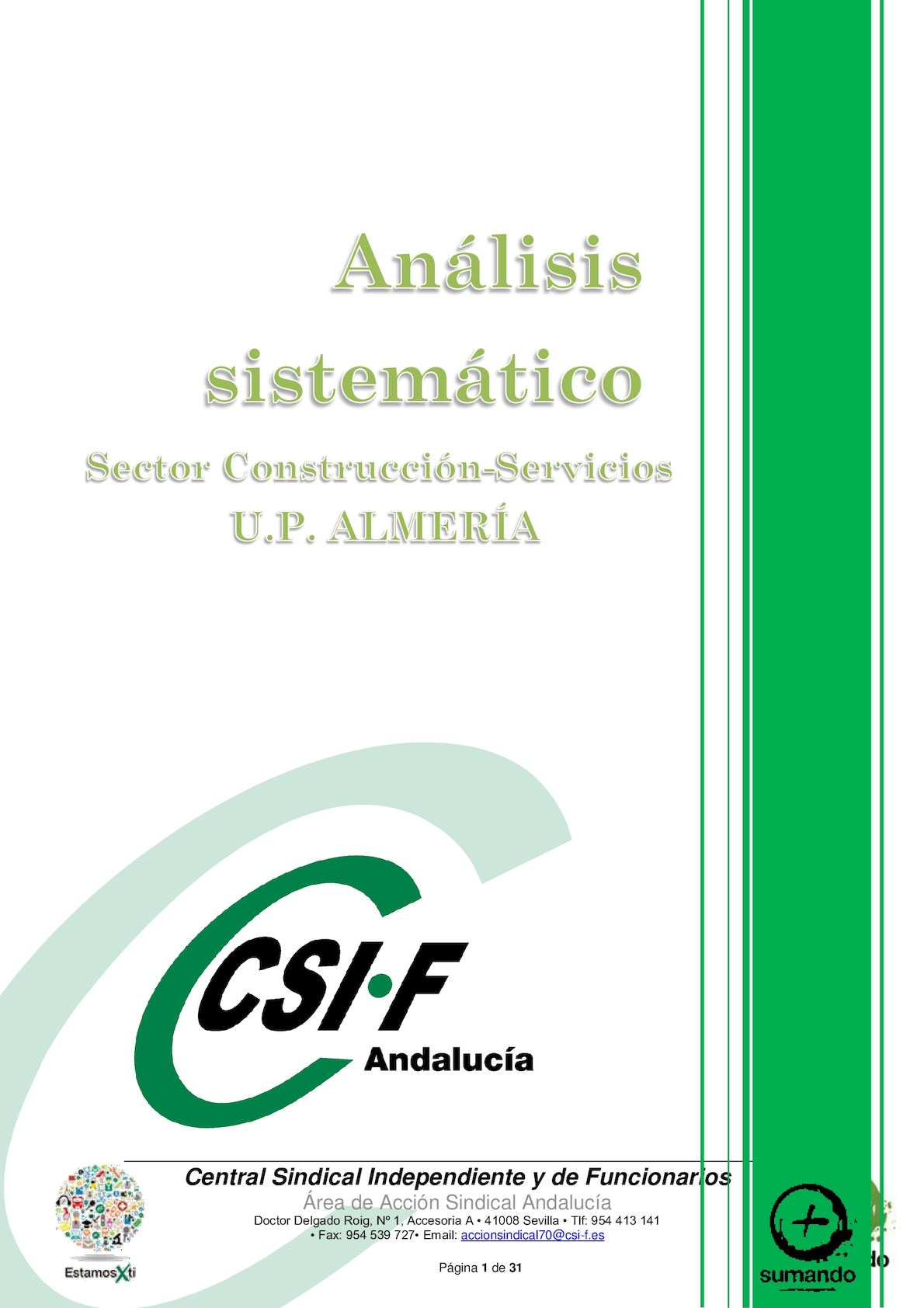 Calam O Base Borrador An Lisis Sistem Tico Del Sector  # Muebles Ramirez Almeria