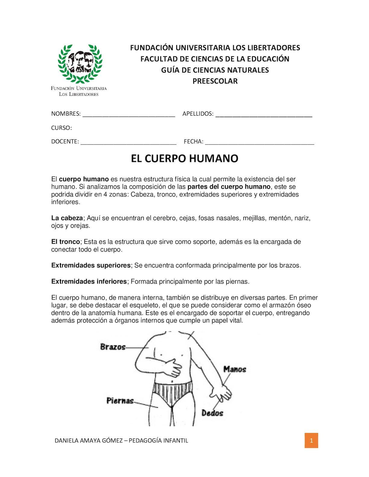 Calaméo - Guia El Cuerpo