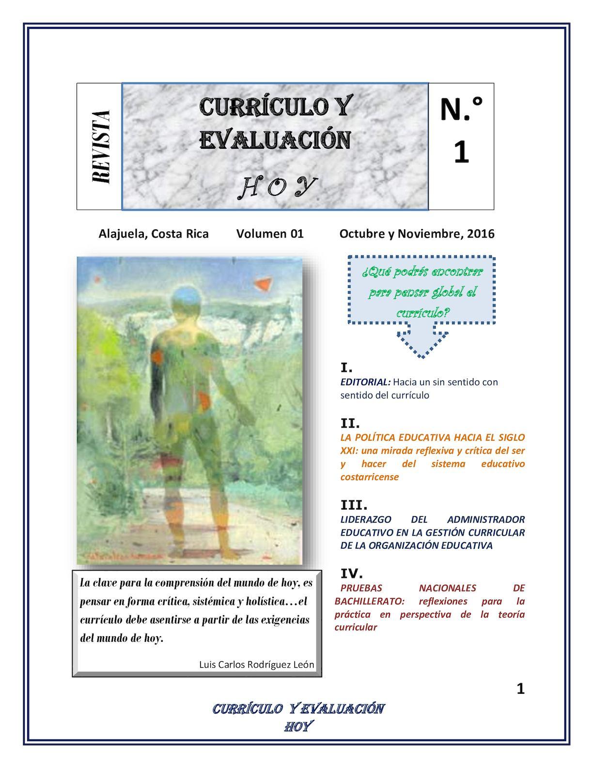 Calaméo - Revista Currículo Y Evaluación Hoy Luis Carlos Rodríguez León