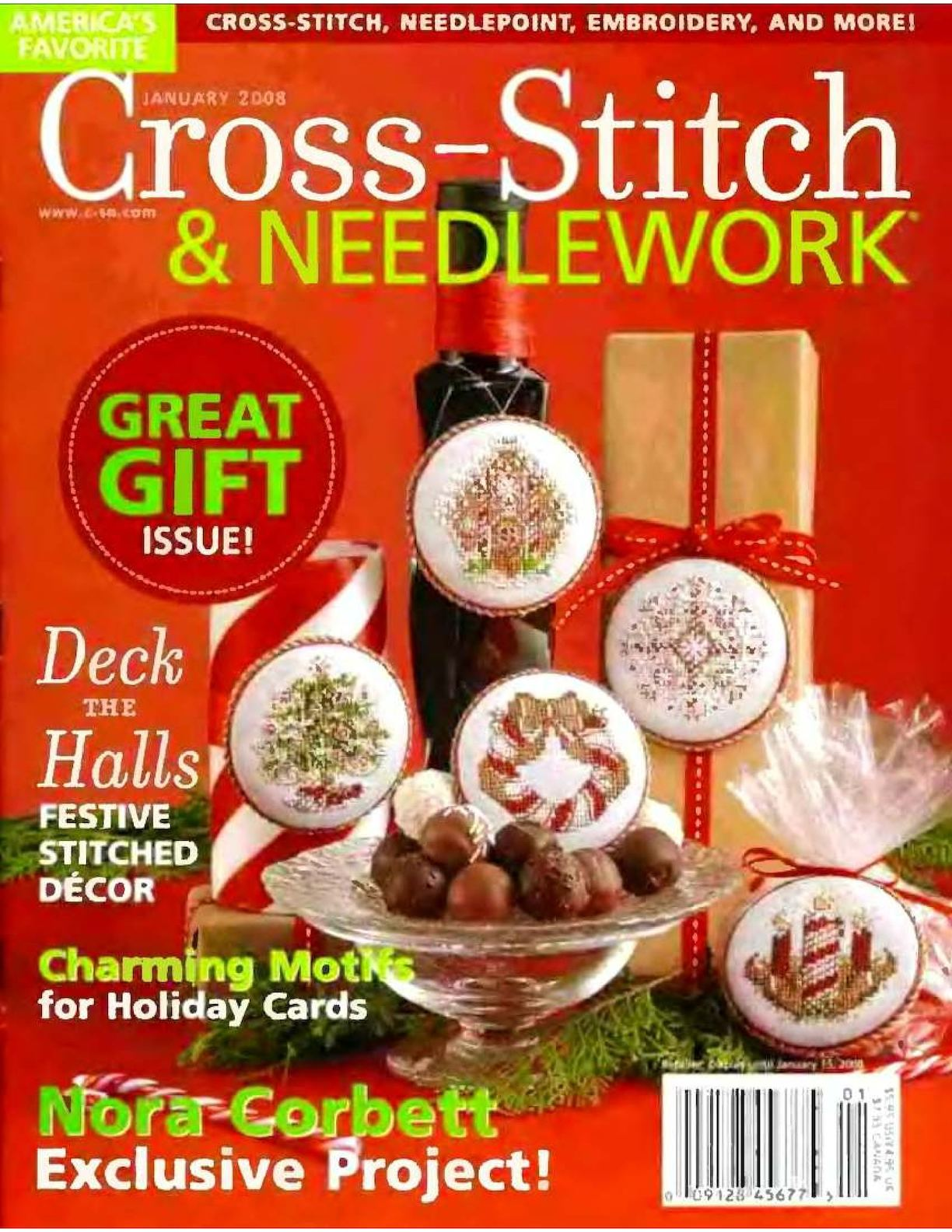 Cross Stitch And Needlework 2008 01