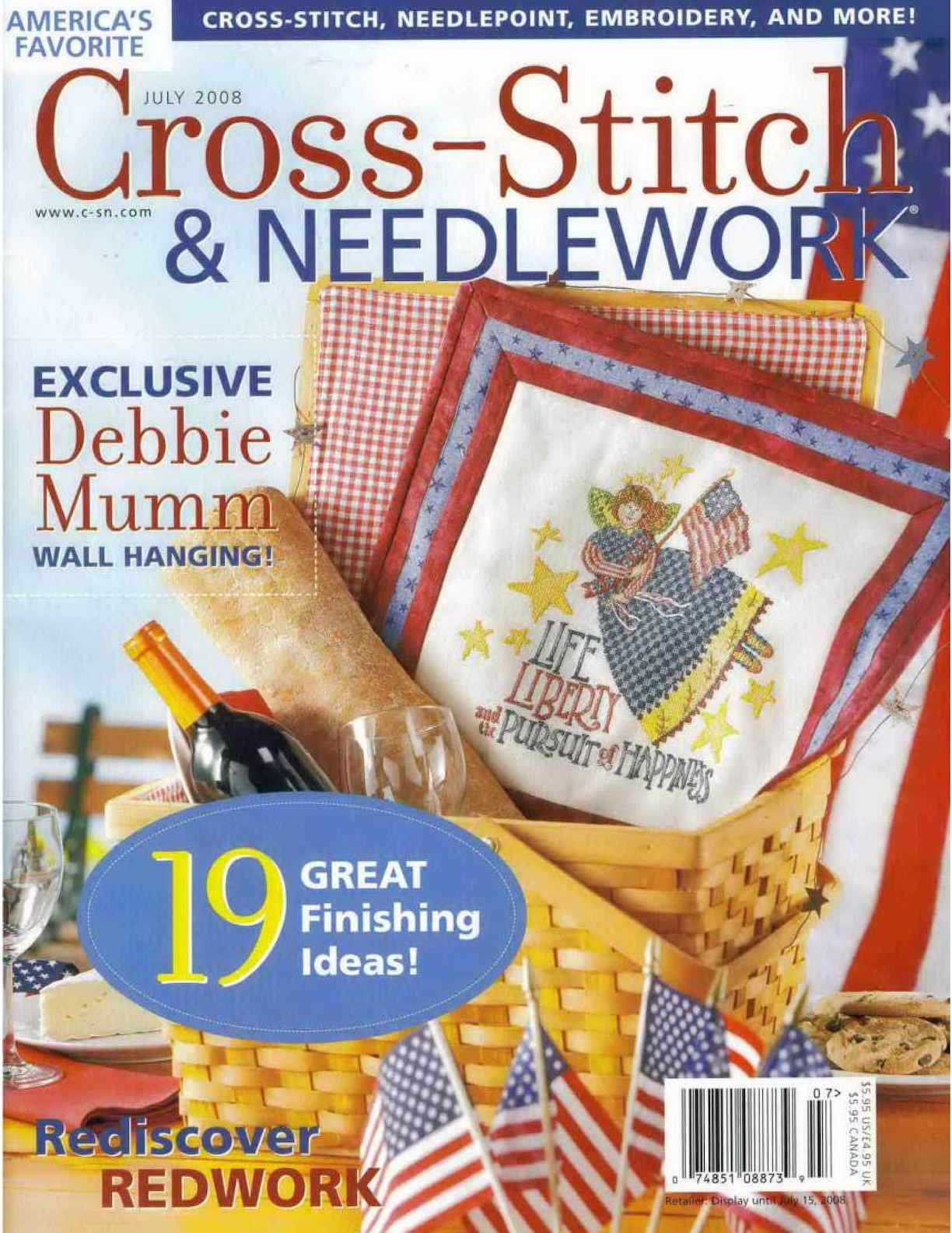 Cross Stitch And Needlework 2008 07