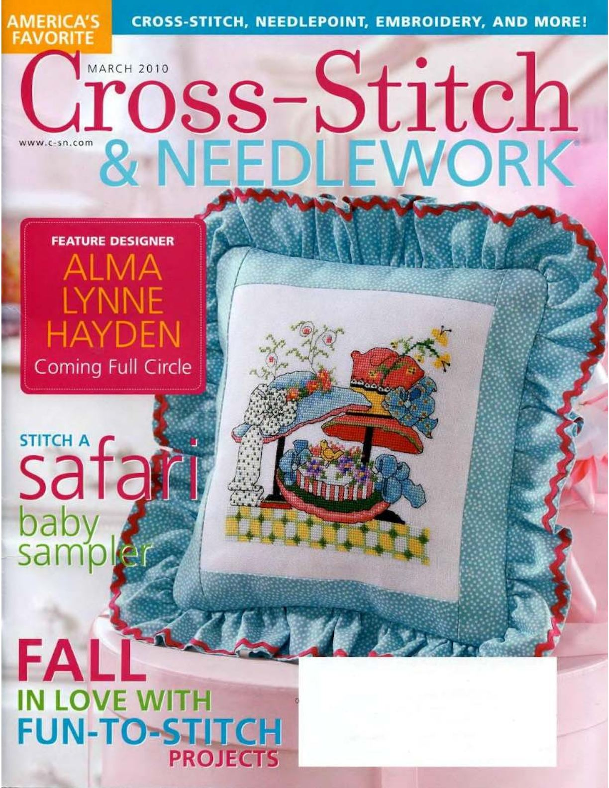 Cross Stitch And Needlework 2010 03