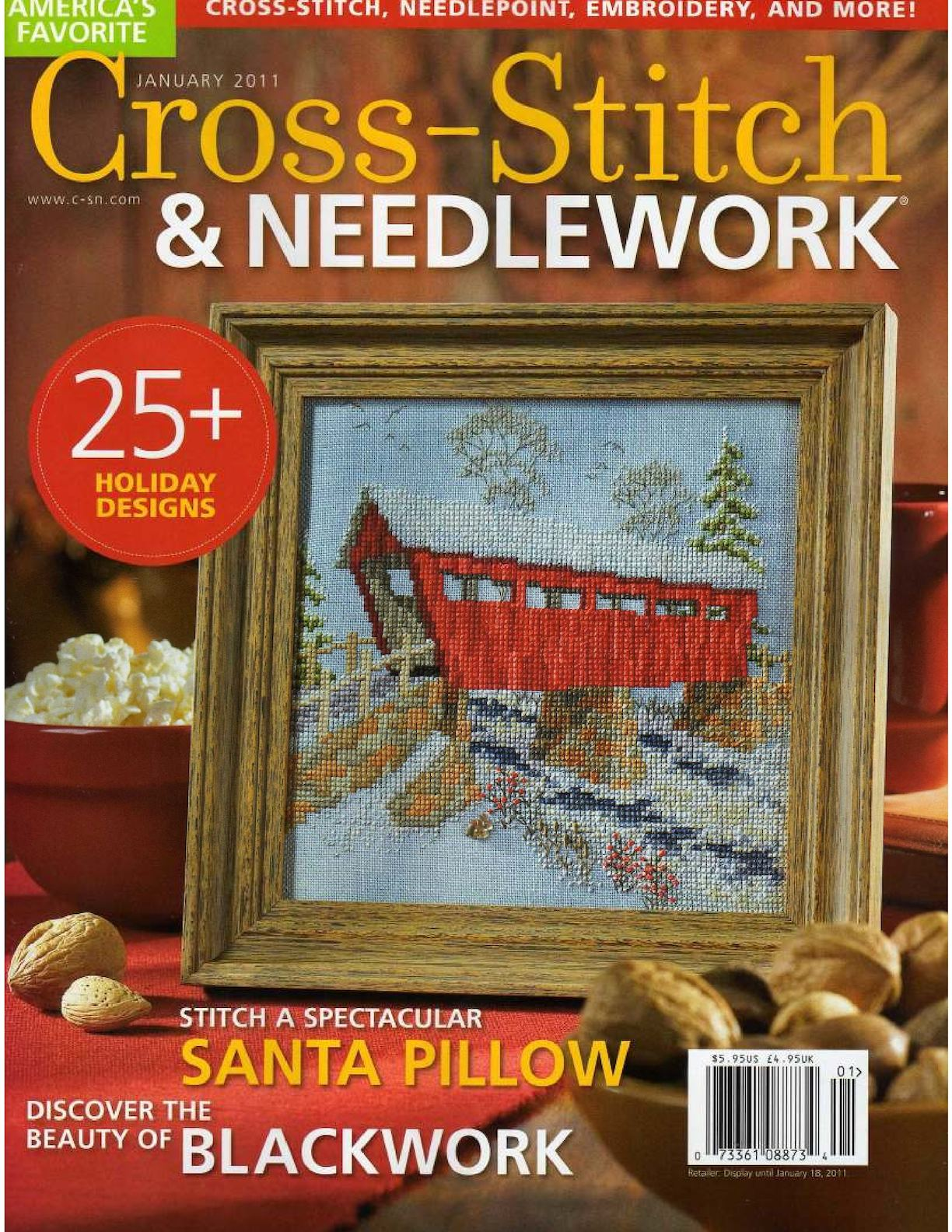 Cross Stitch And Needlework 2011 01