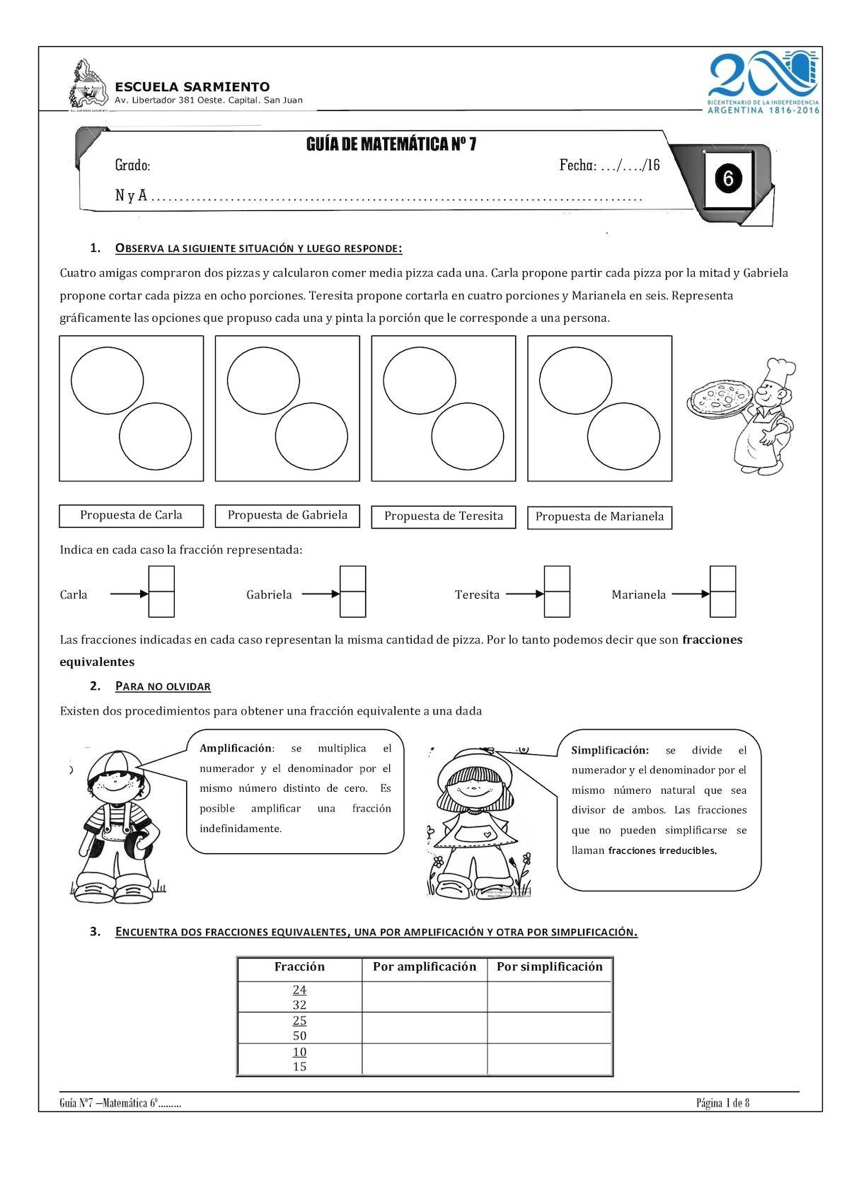 Guia 7 Fracciones