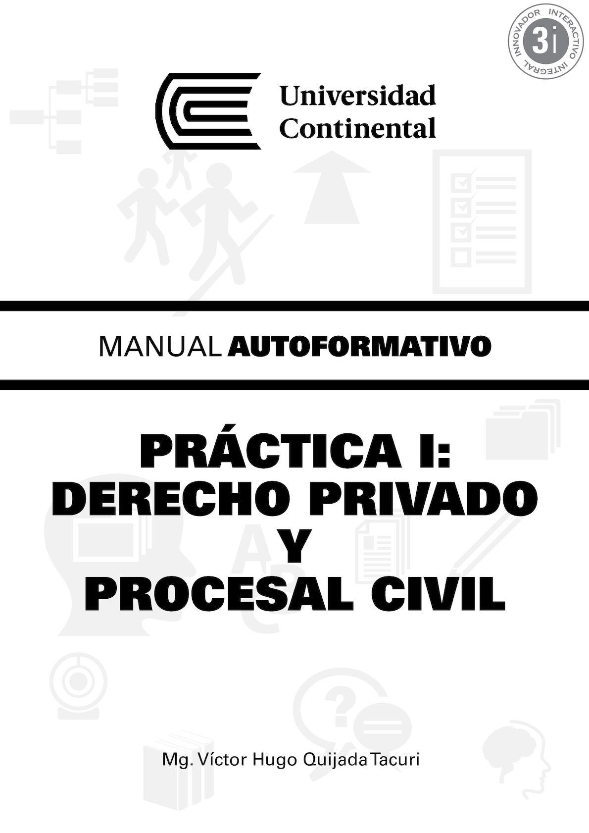 Calaméo - Practica I Derecho Privado Y Procesal Civil A0354