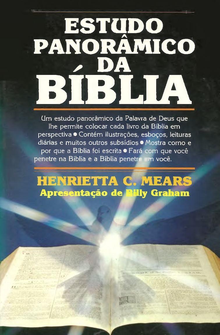 Estudo Panorâmico Da Bíblia - Henrietta C. Mears