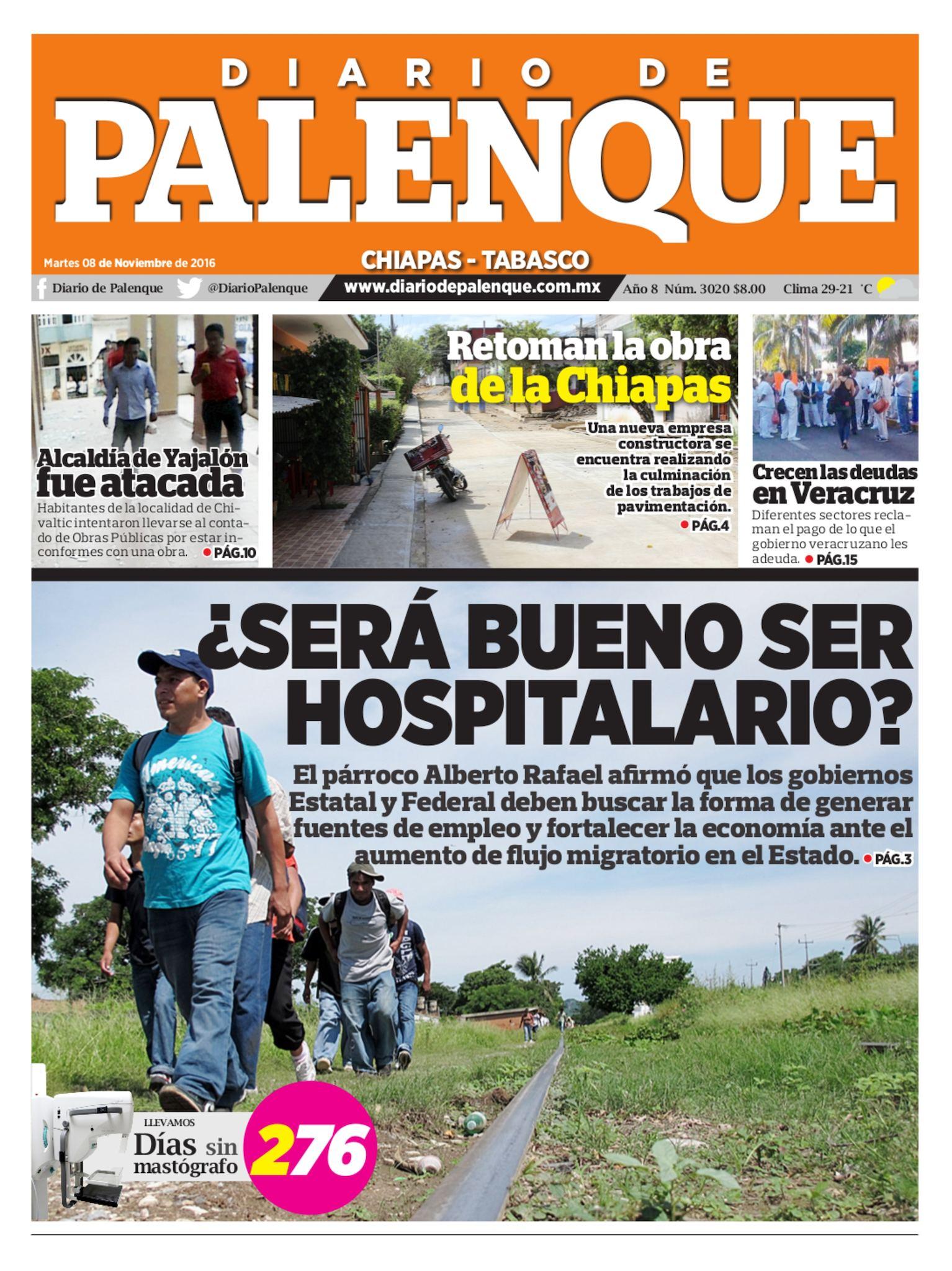 Diario 08/11/2016