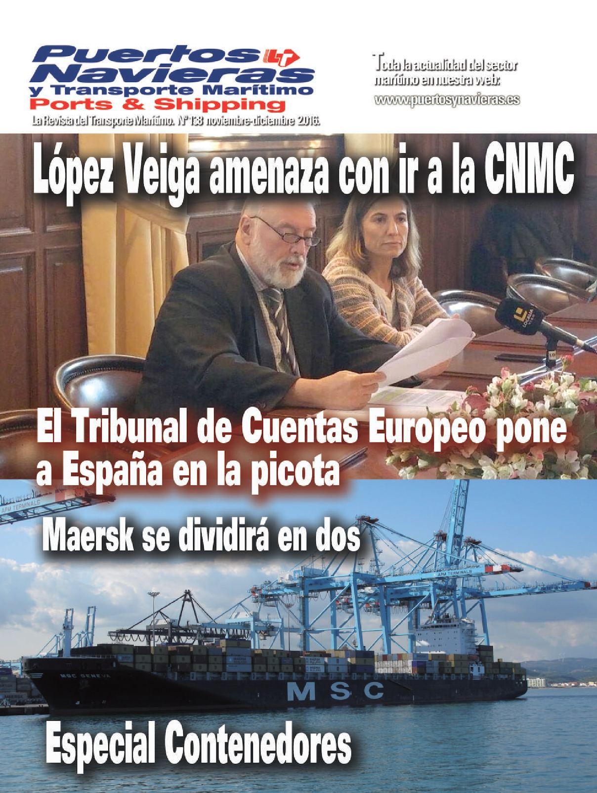 Puertos y Navieras nº 138 Noviembre Web