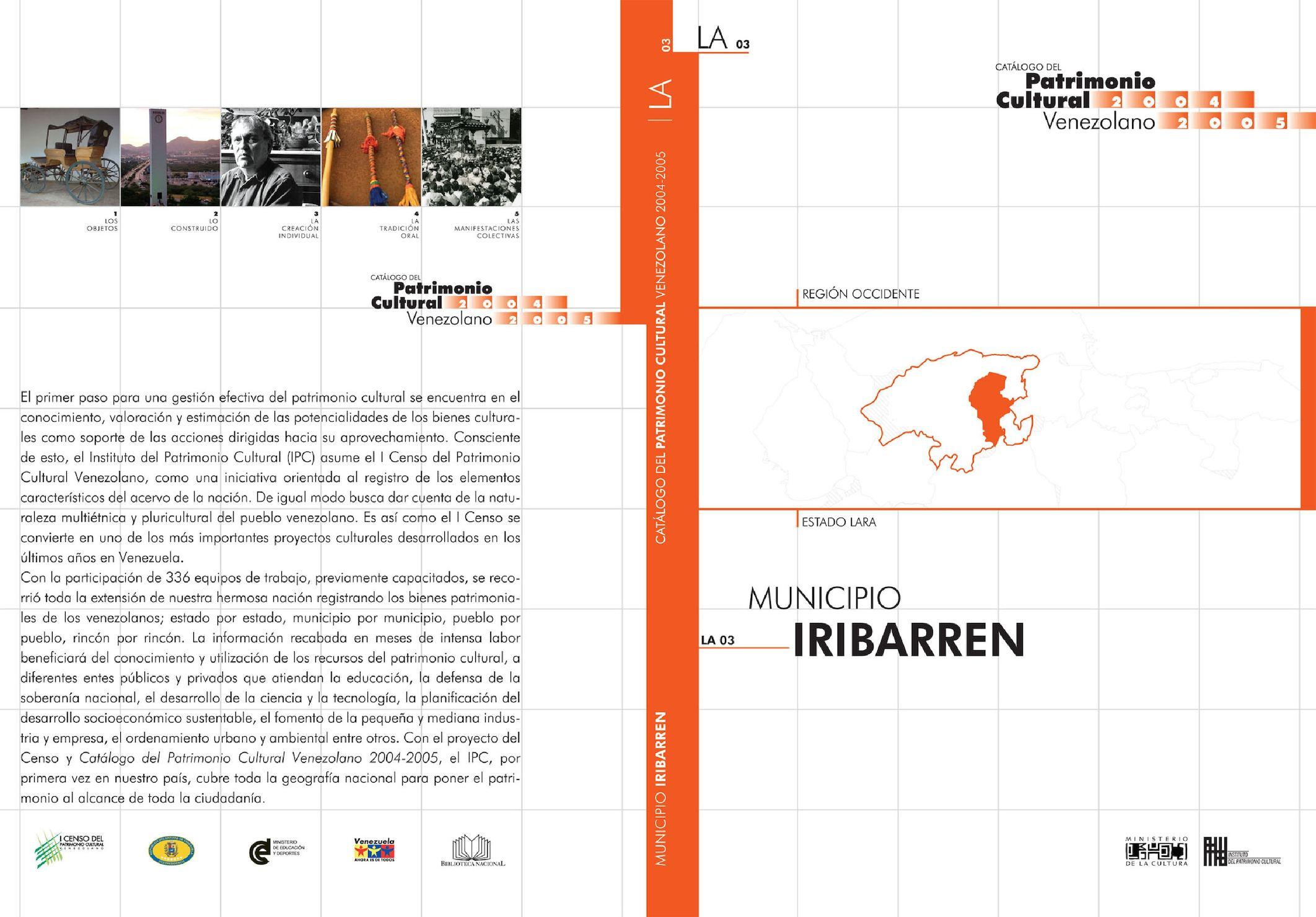 Calaméo - Catalogo del Patrimonio Cultural Municipio Iribarren (Lara ...