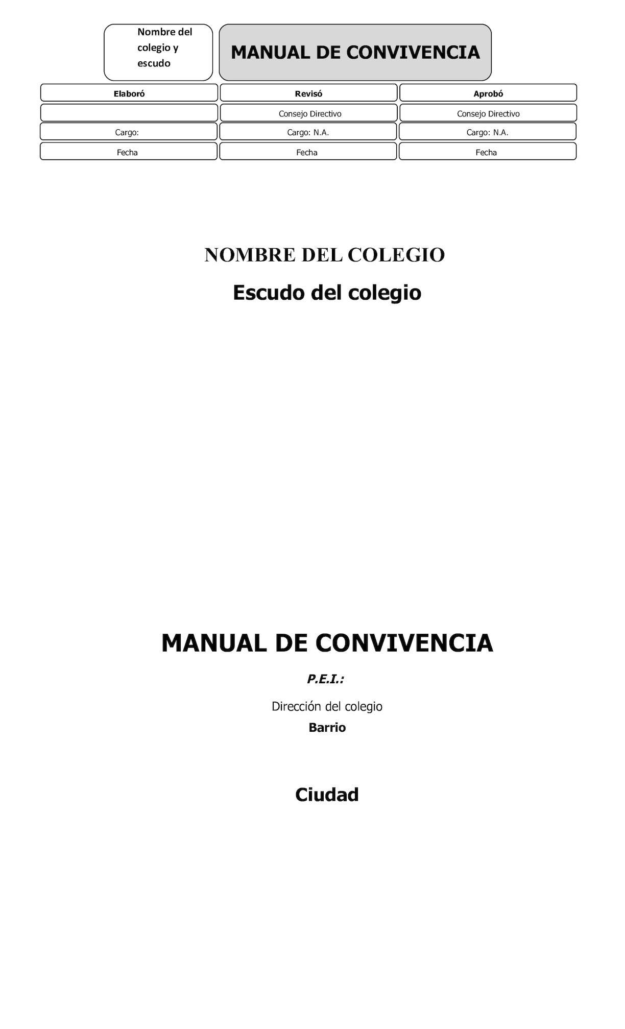 Manual Convivencia