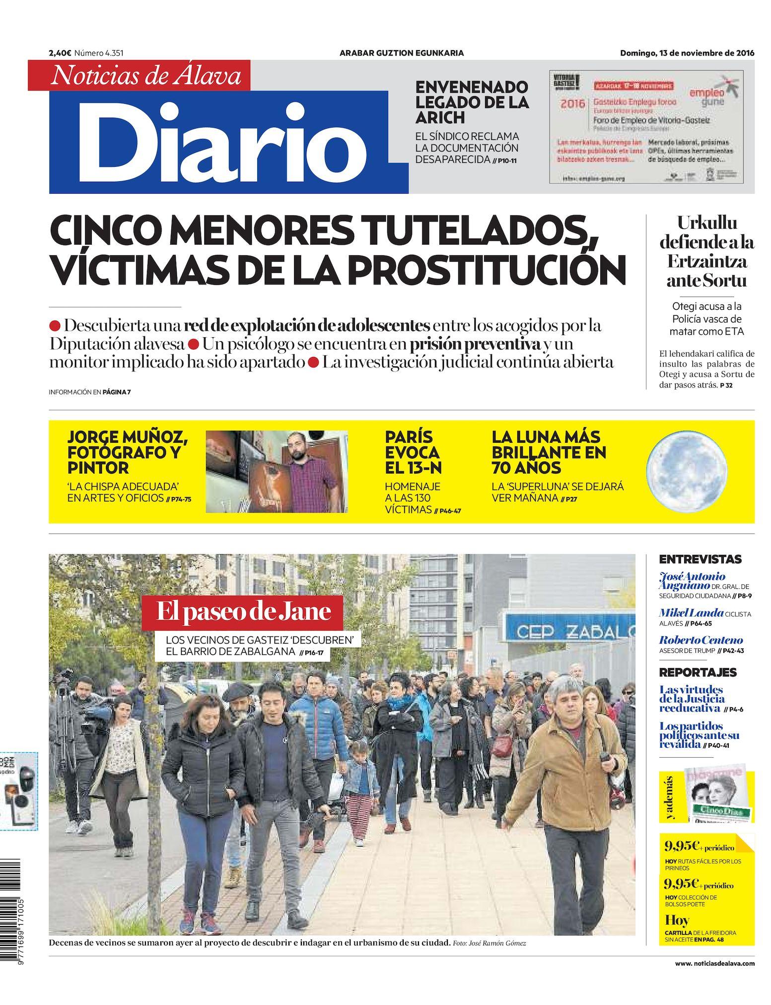5ee3515ae7f19 Calaméo - Diario de Noticias de Álava 20161113