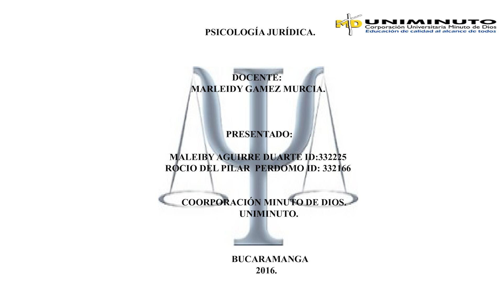Calaméo - Revista Psicologia Juridica Listo