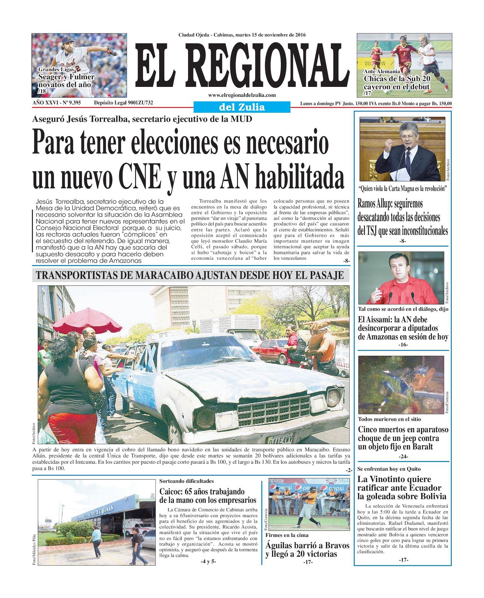 Calaméo - El Regional del Zulia 15-11-2016