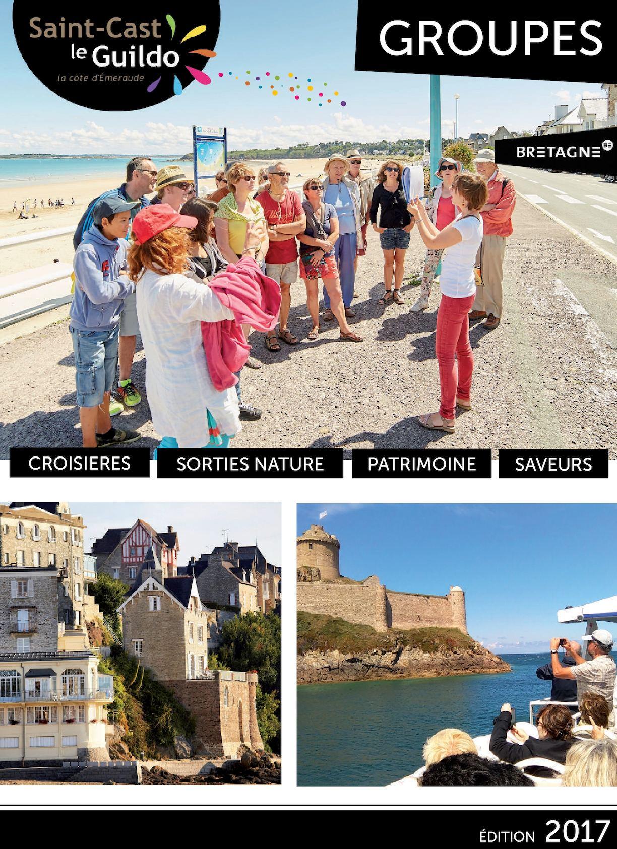 Calam o brochure groupes 2017 saint cast le guildo - Office du tourisme saint cast le guildo ...