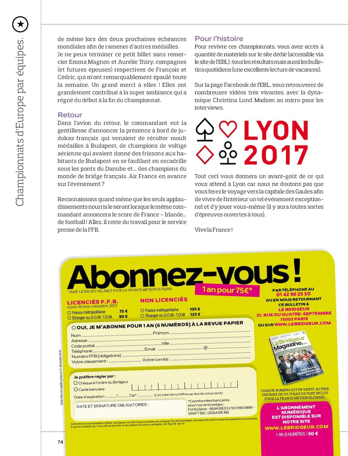 Carte Bancaire Fortis.Le Bridgeur Magazine N 904 Juillet Aout 2016 Calameo Downloader