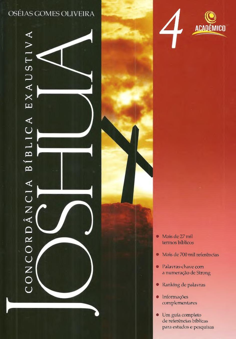 Concordância Bíblica - Joshua Vol. 4