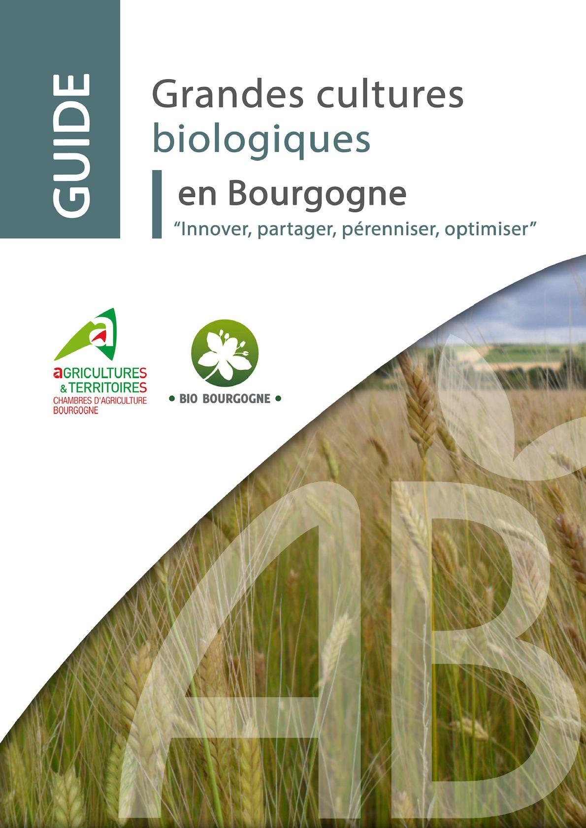 Calam o guide grandes cultures biologiques en bourgogne 2016 - Chambre agriculture yonne ...