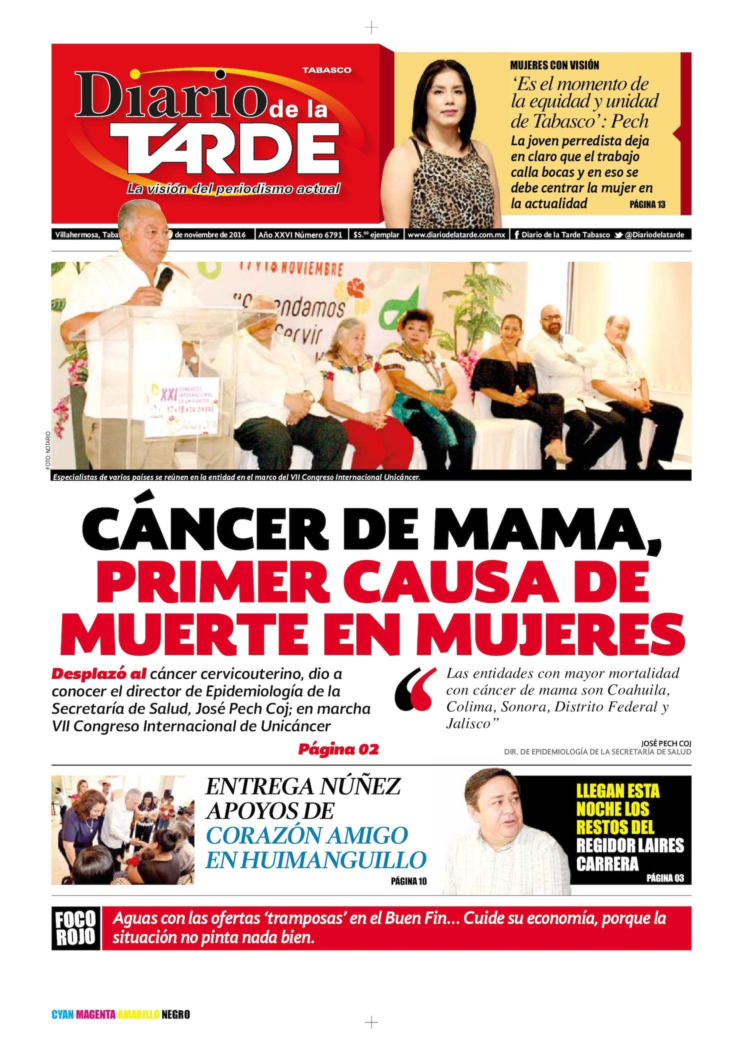 Calaméo - Edicion Jueves 18 Nov 2016