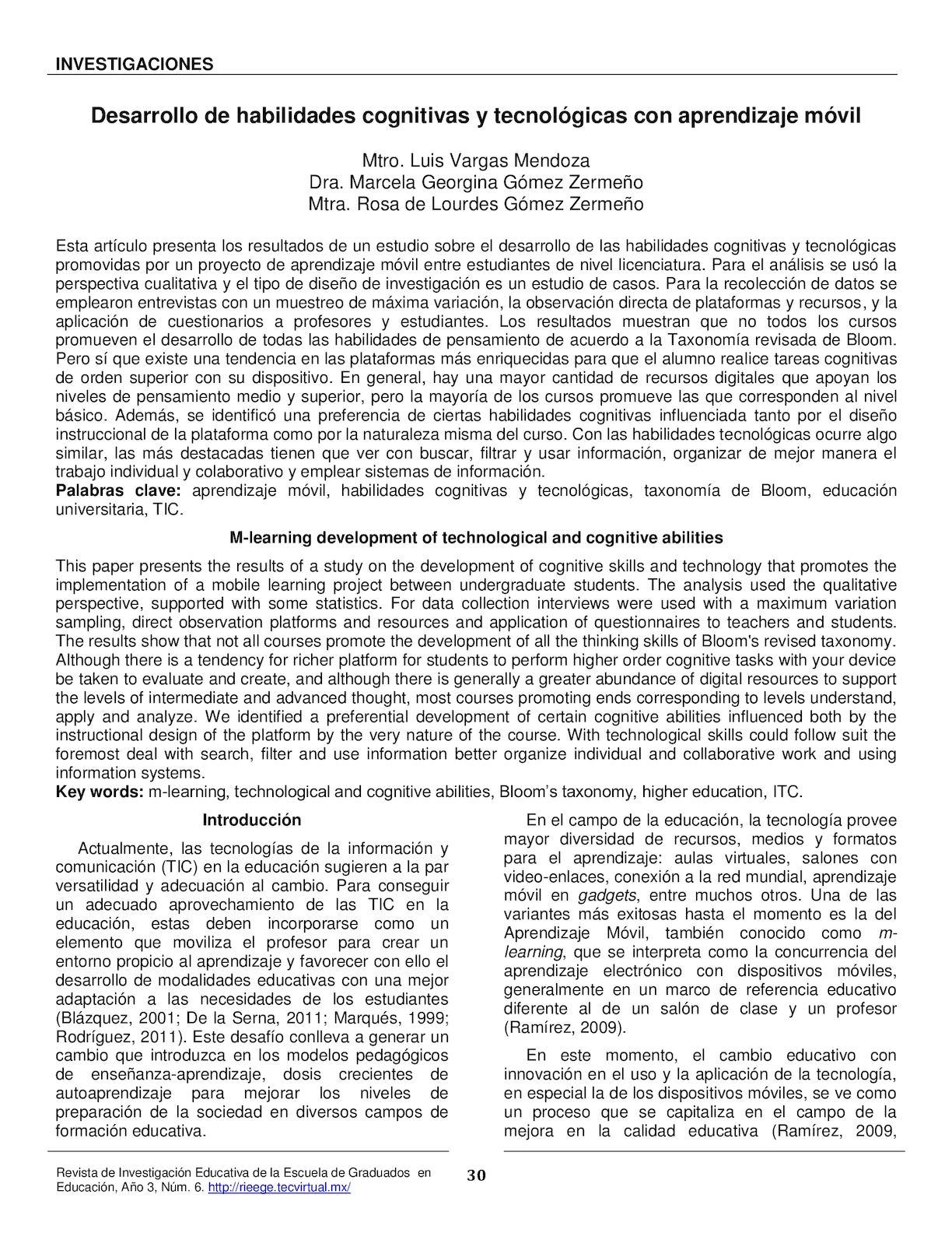 Calaméo - Desarrollo de habilidades cognitivas y tecnológicas con ...