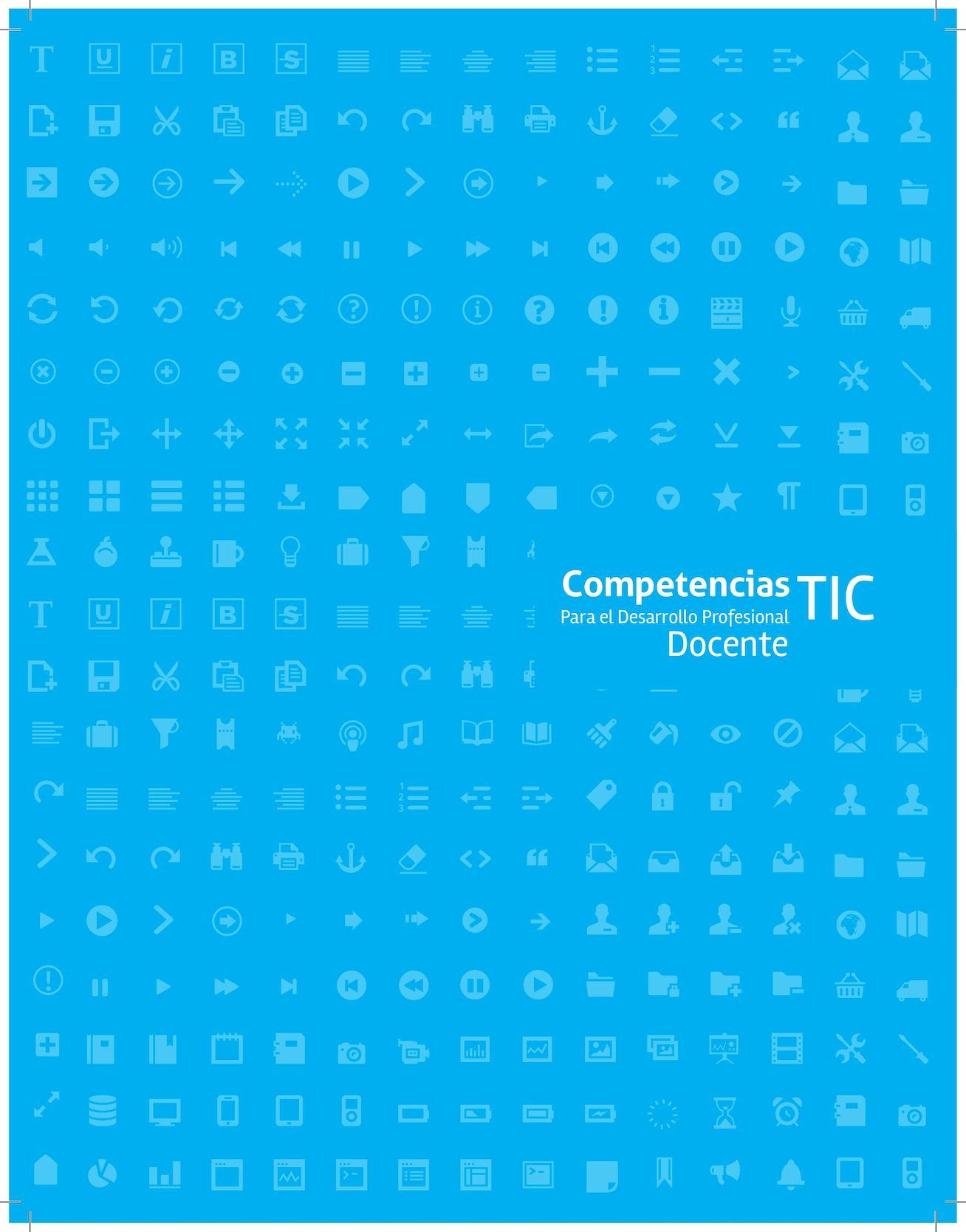 Competencias Tic Para El Desarrollo Profesional Docente