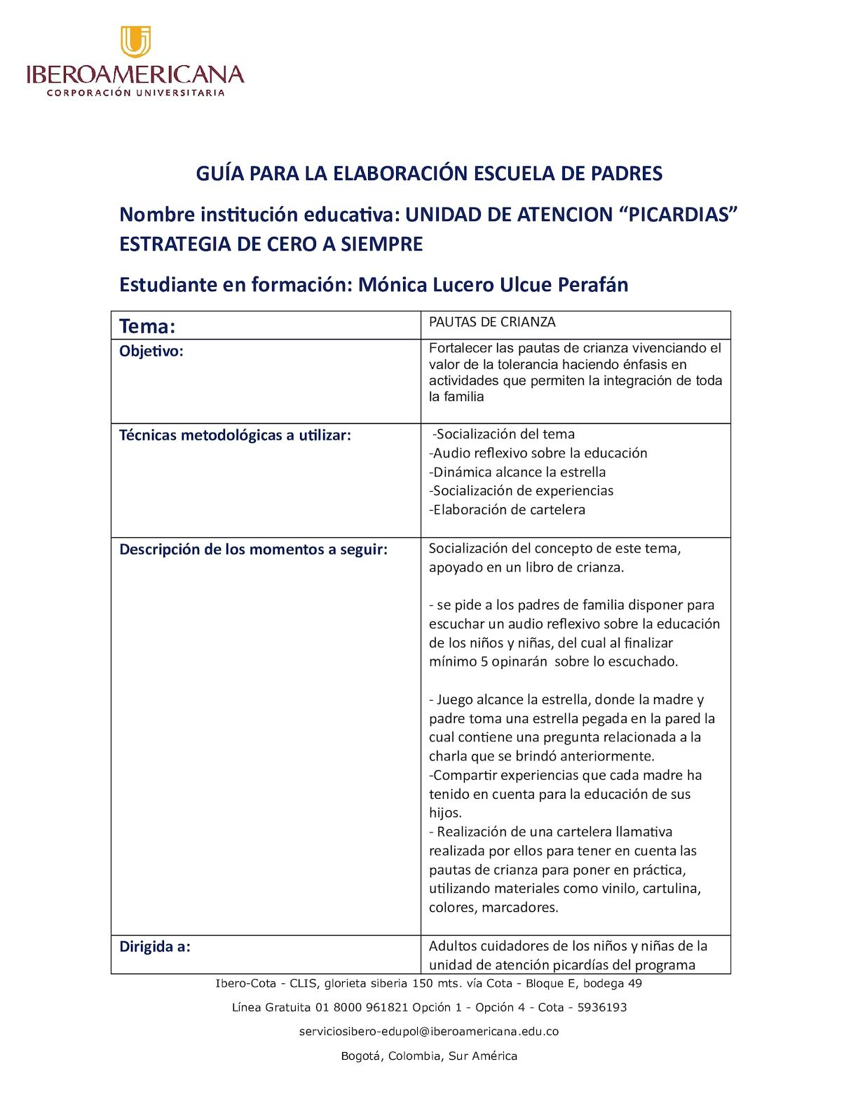 Calaméo - Guía Escuela De Padres Monica Ulcue