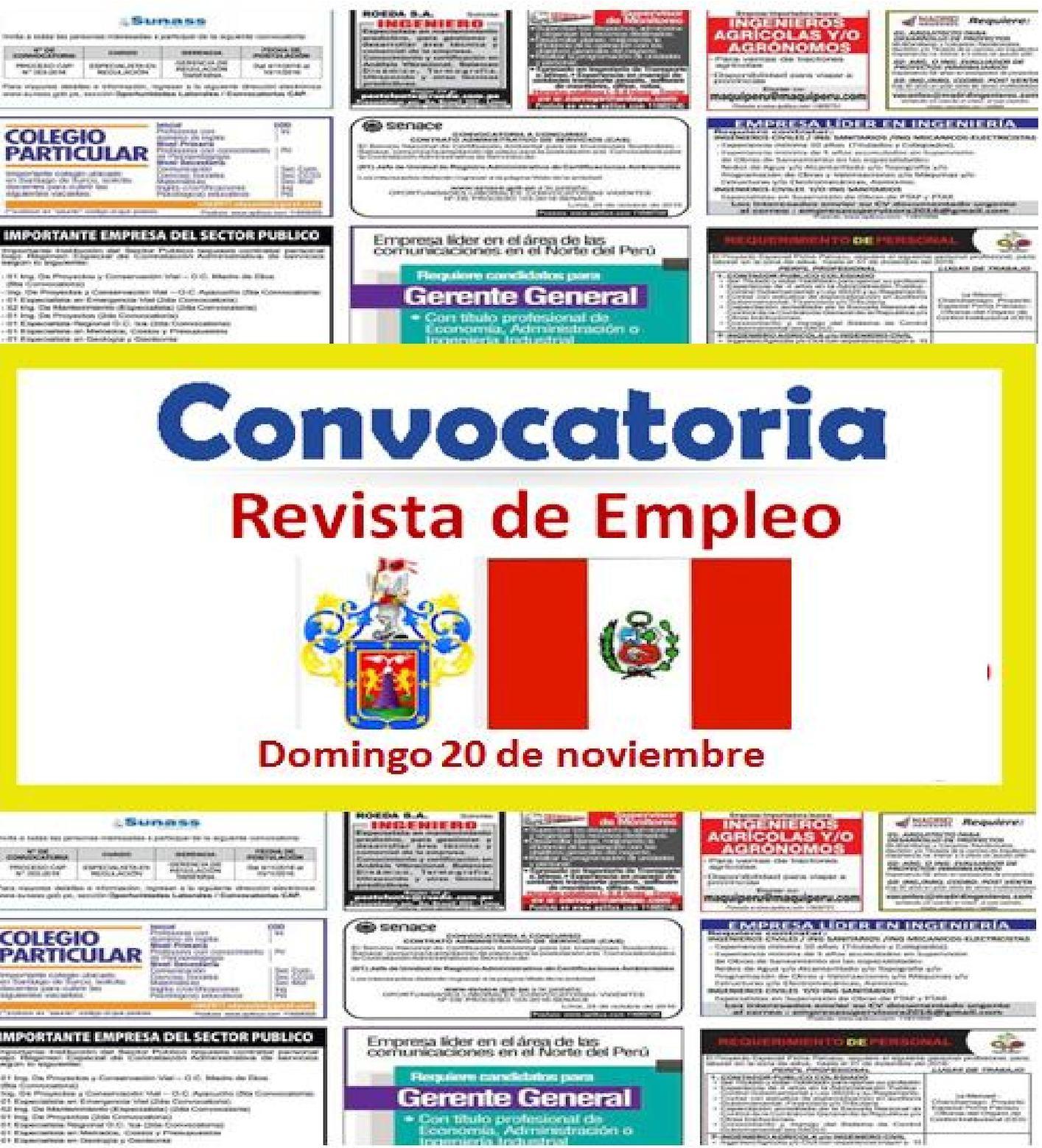 Calaméo - Revista De Empleo 20 De Noviembre