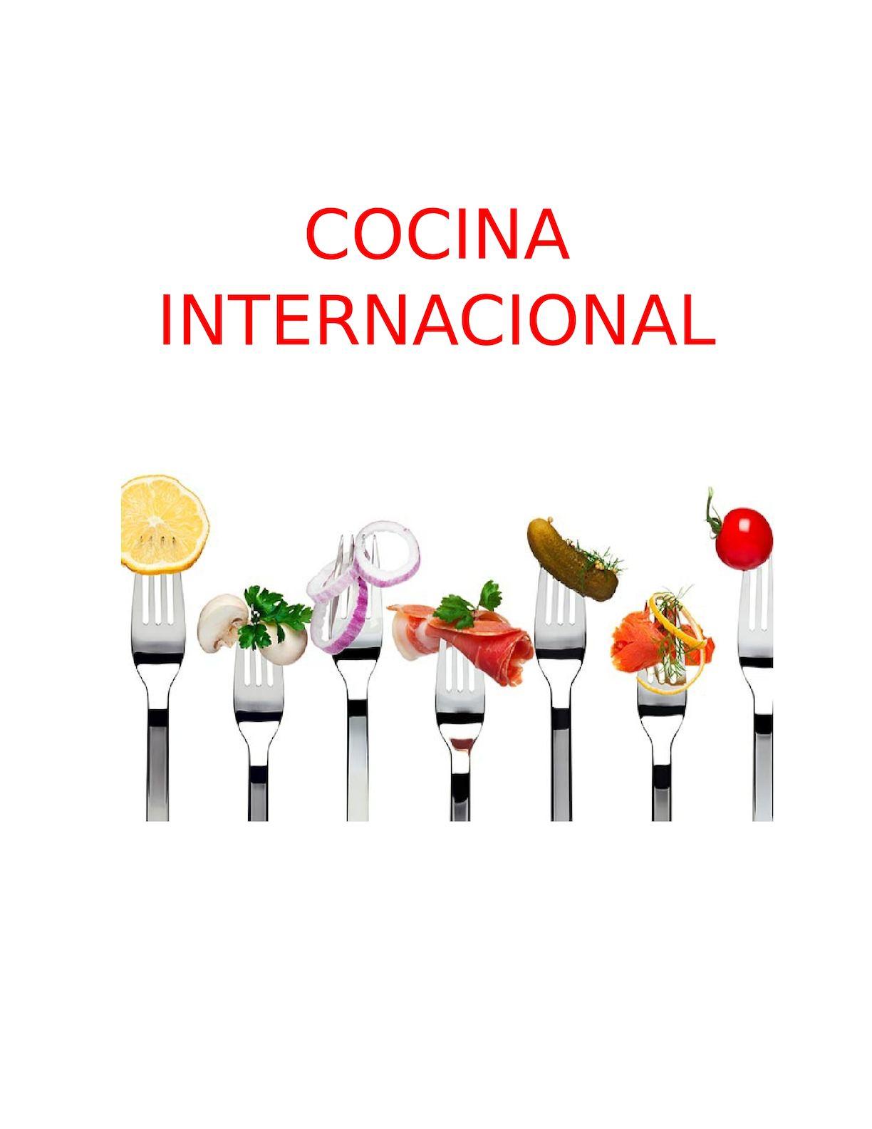calam o cocina internacional