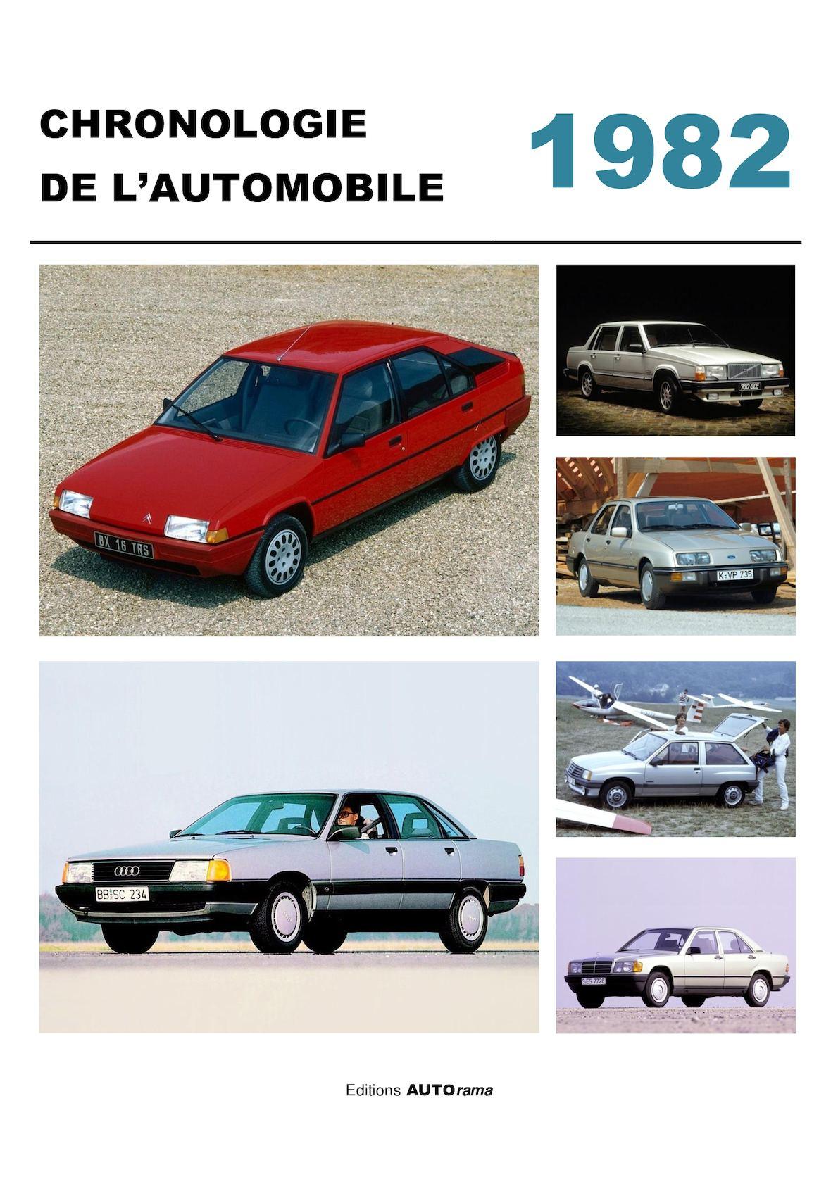 calam o chronologie de l 39 automobile 1982. Black Bedroom Furniture Sets. Home Design Ideas