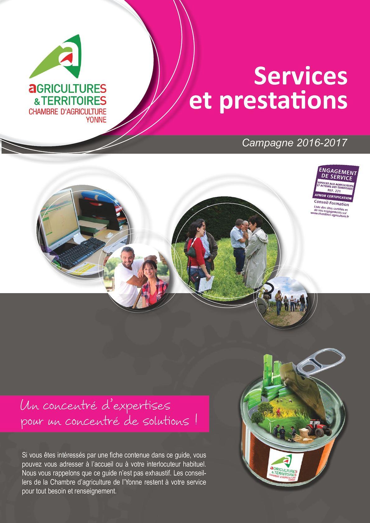 Calam o le guide des services - Chambre agriculture yonne ...