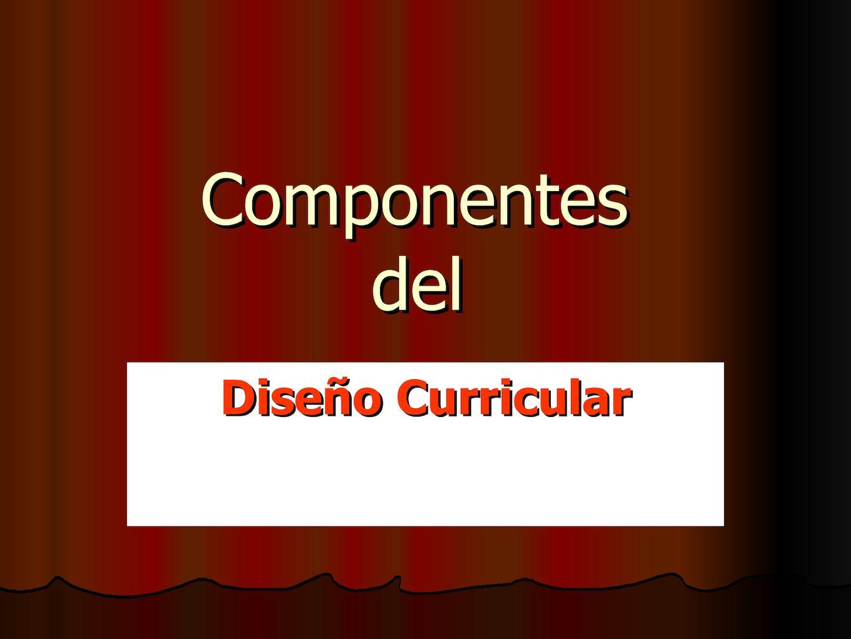Calaméo - Componentes del diseño curricular