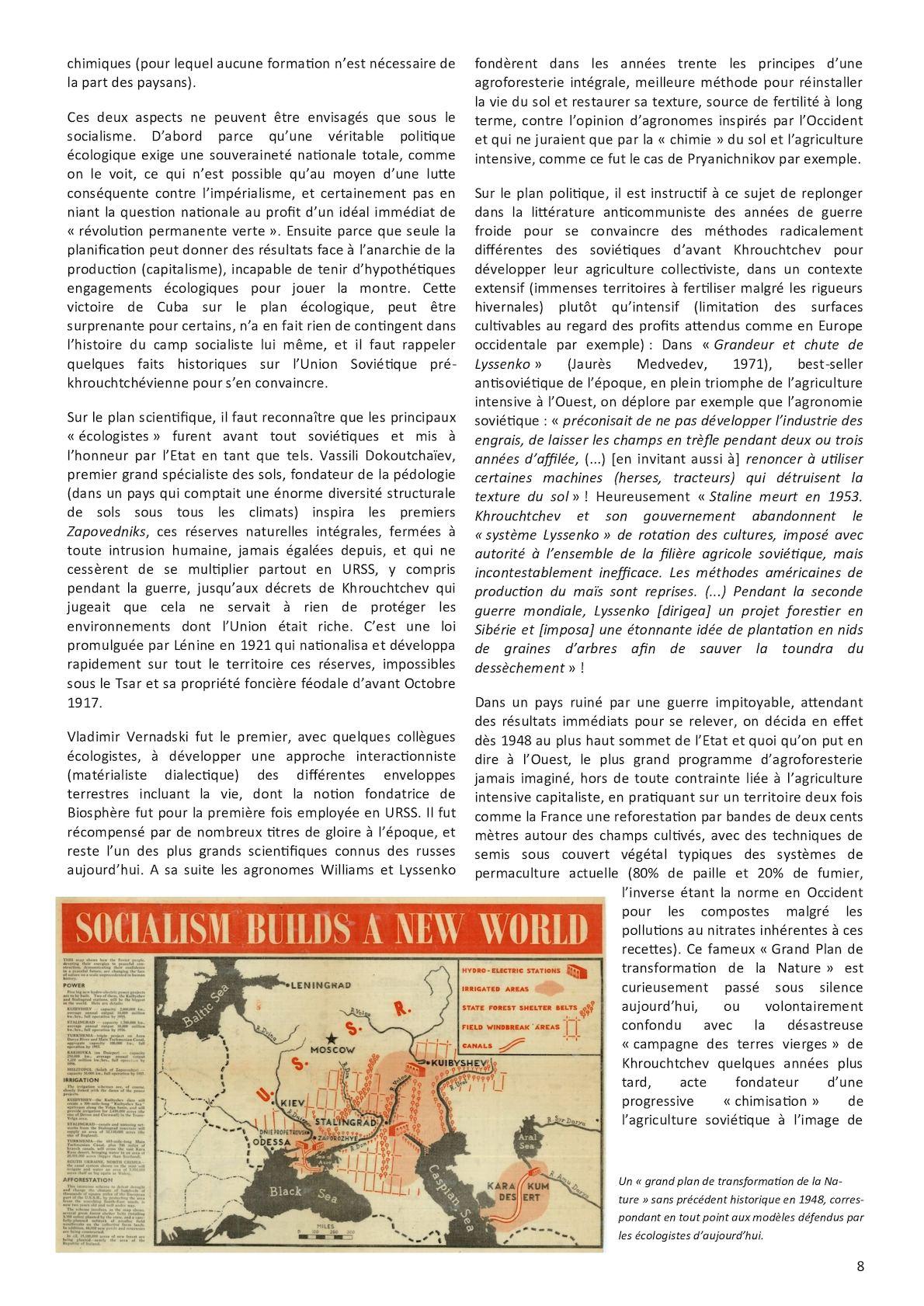 L'écologie à la lumière du marxisme léninisme