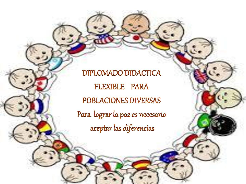Cartilla Pedagogica De Didacticas Flexibles Para Poblaciones Diversas