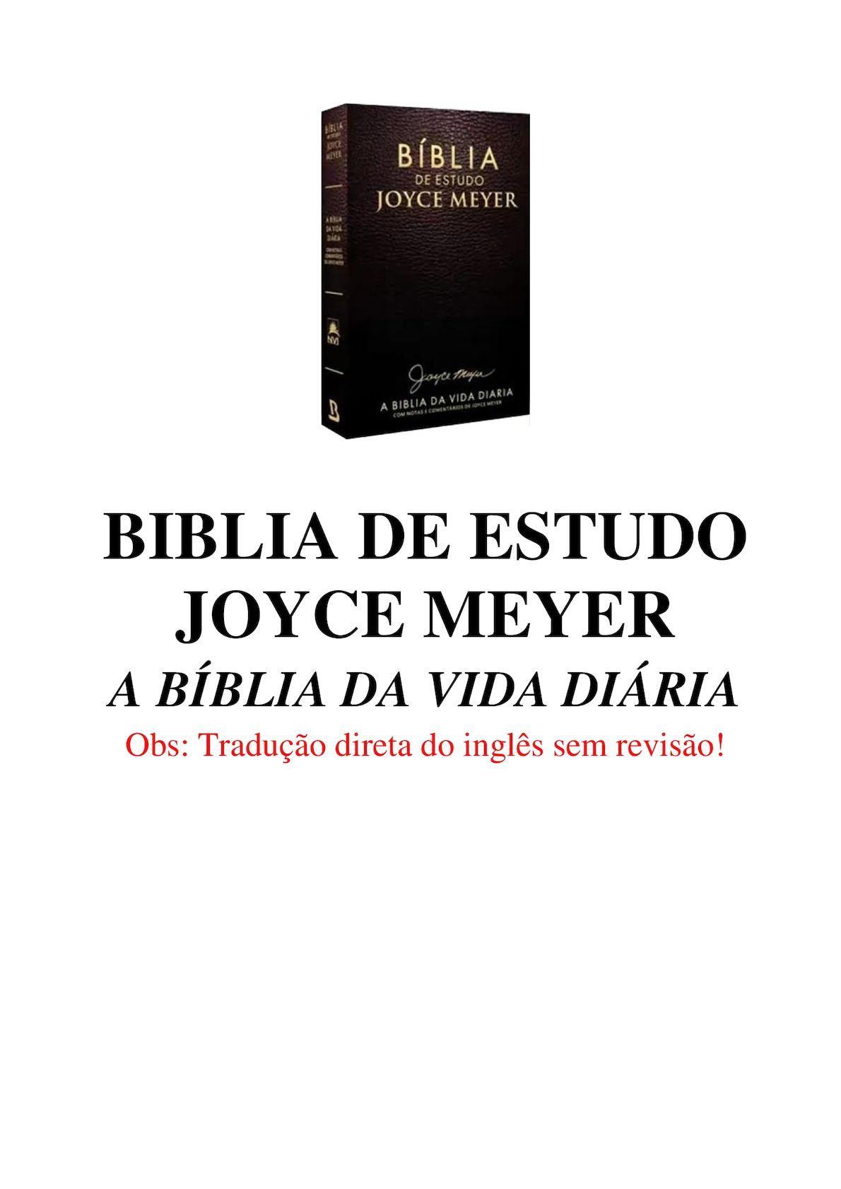 Calaméo Biblia De Estudos Joice