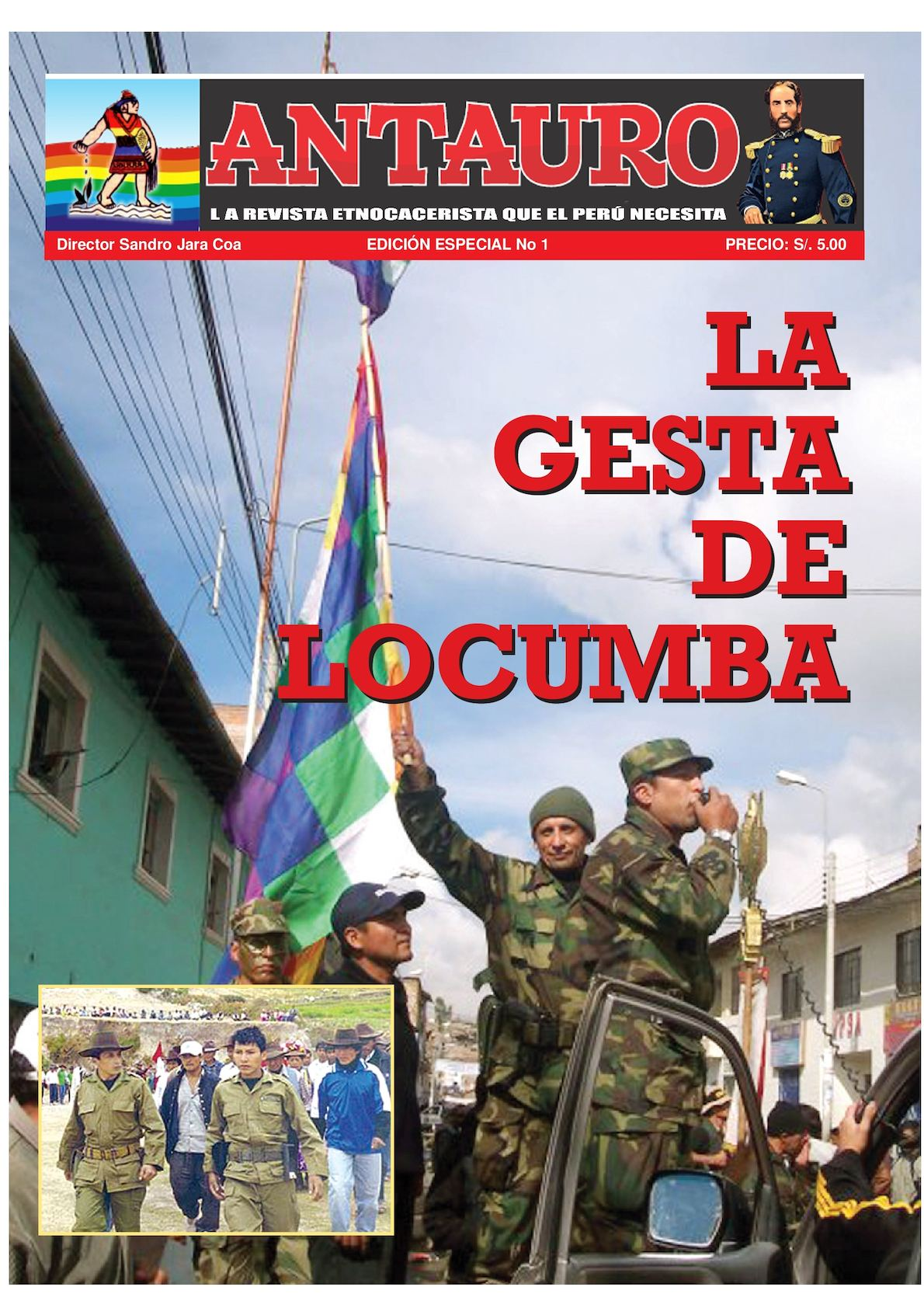Ultimo Firme Revista Antauro