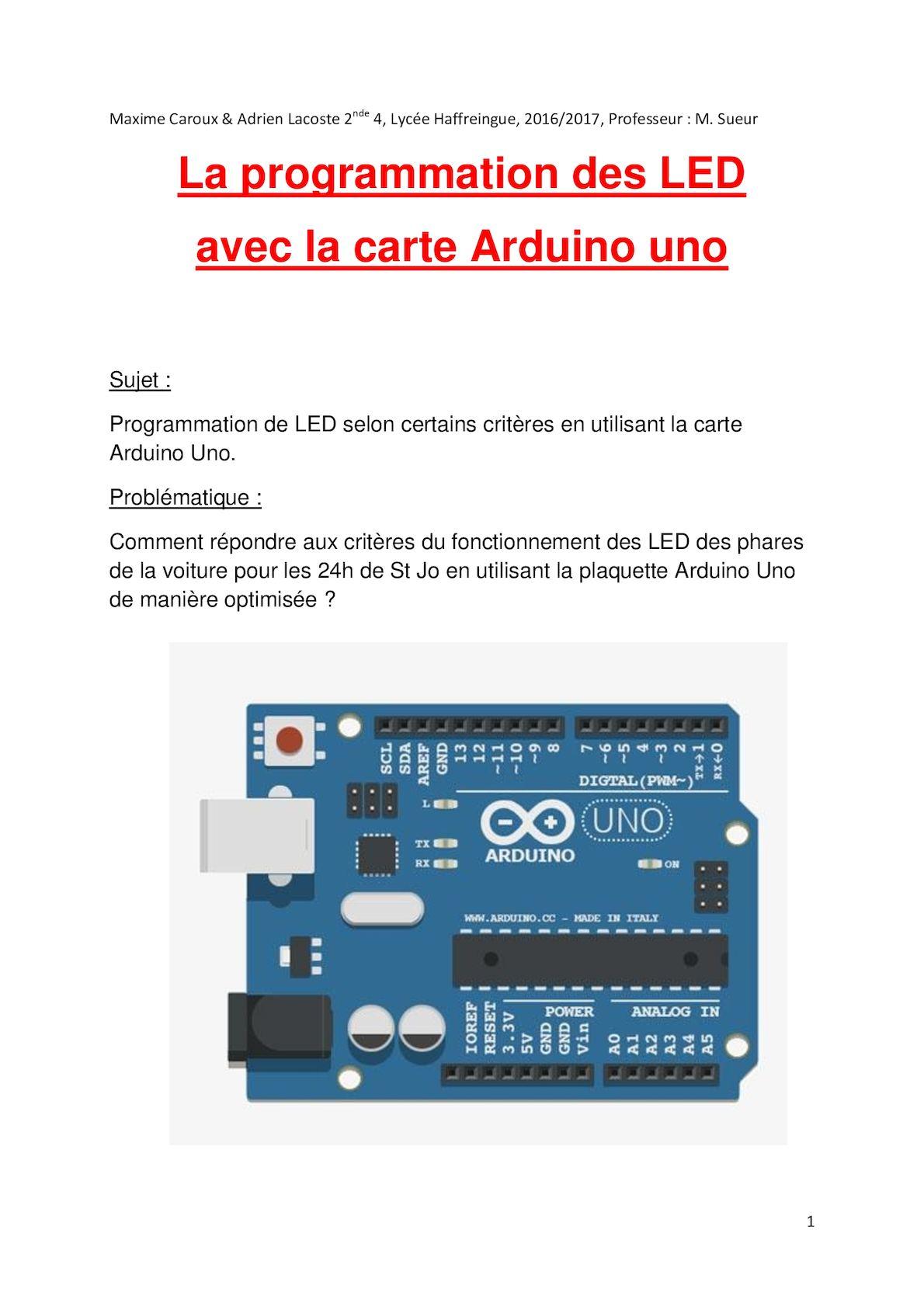 Technologie Document Corrigé Maxime Caroux