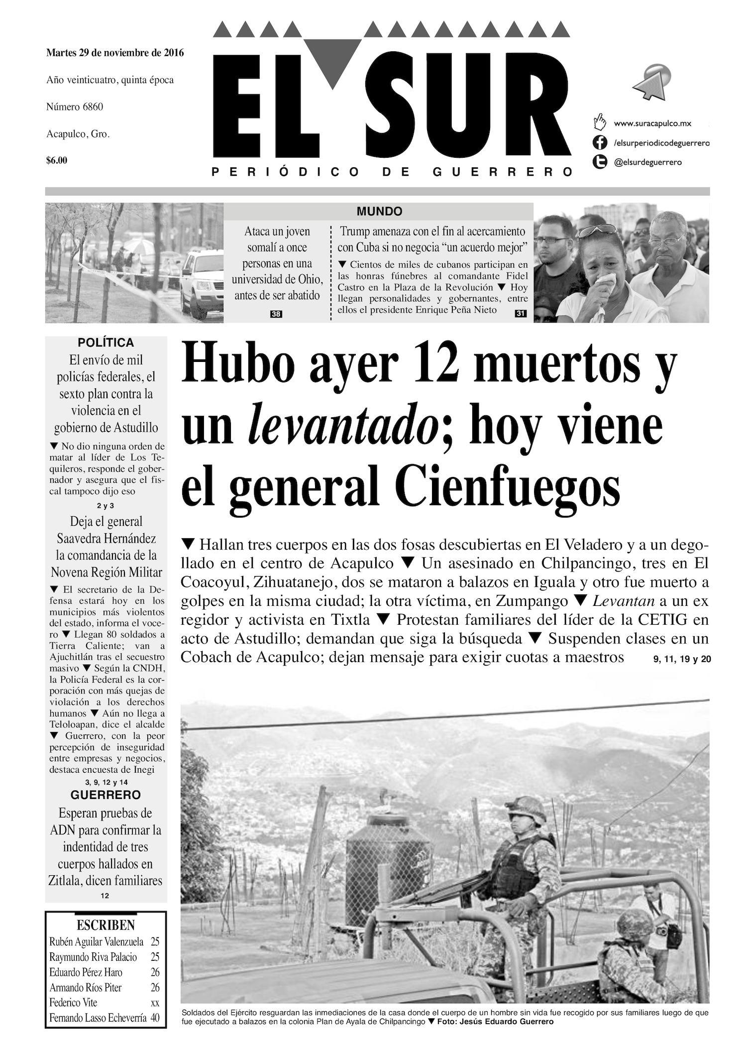 Calaméo - El Sur Martes 29112016