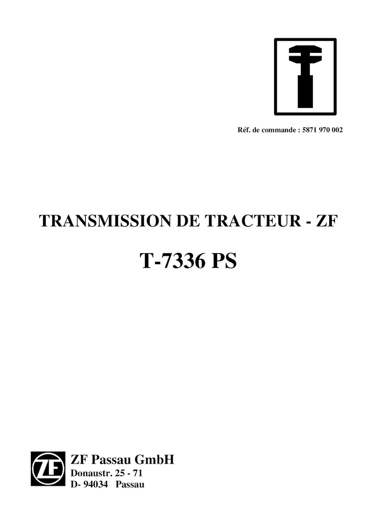 TRANSMISSION T-7336 PS
