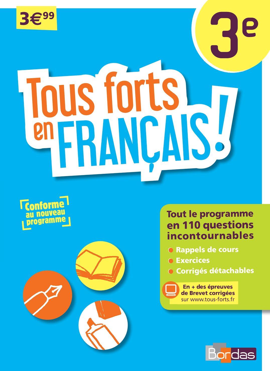 TOUS FORTS EN FRANCAIS - 3E