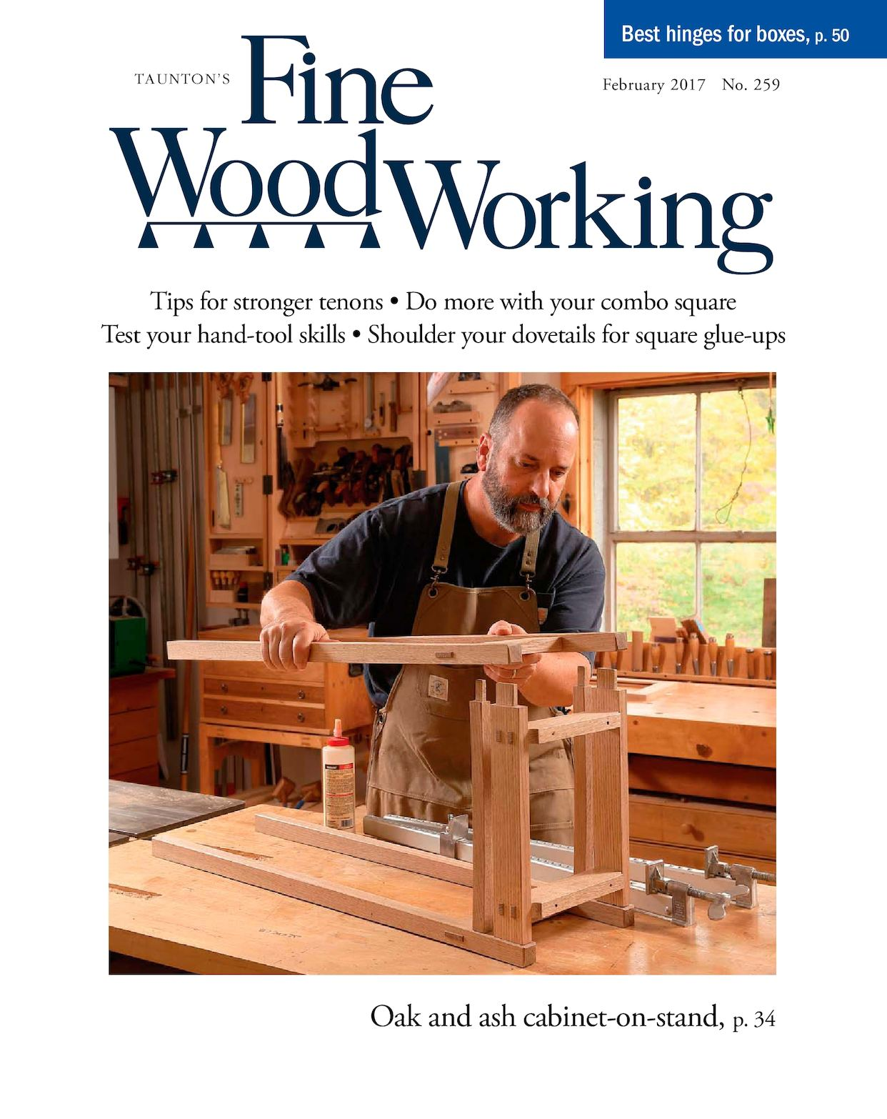 Fine Woodworking #259 - Preview