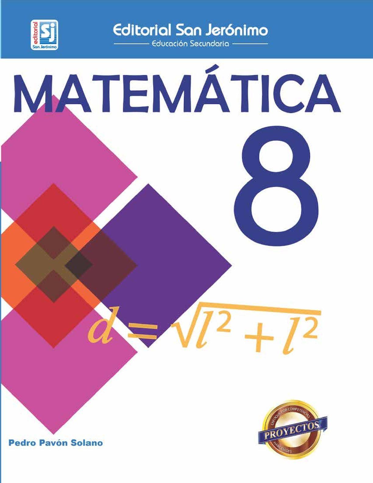 Matemática 8vo Grado