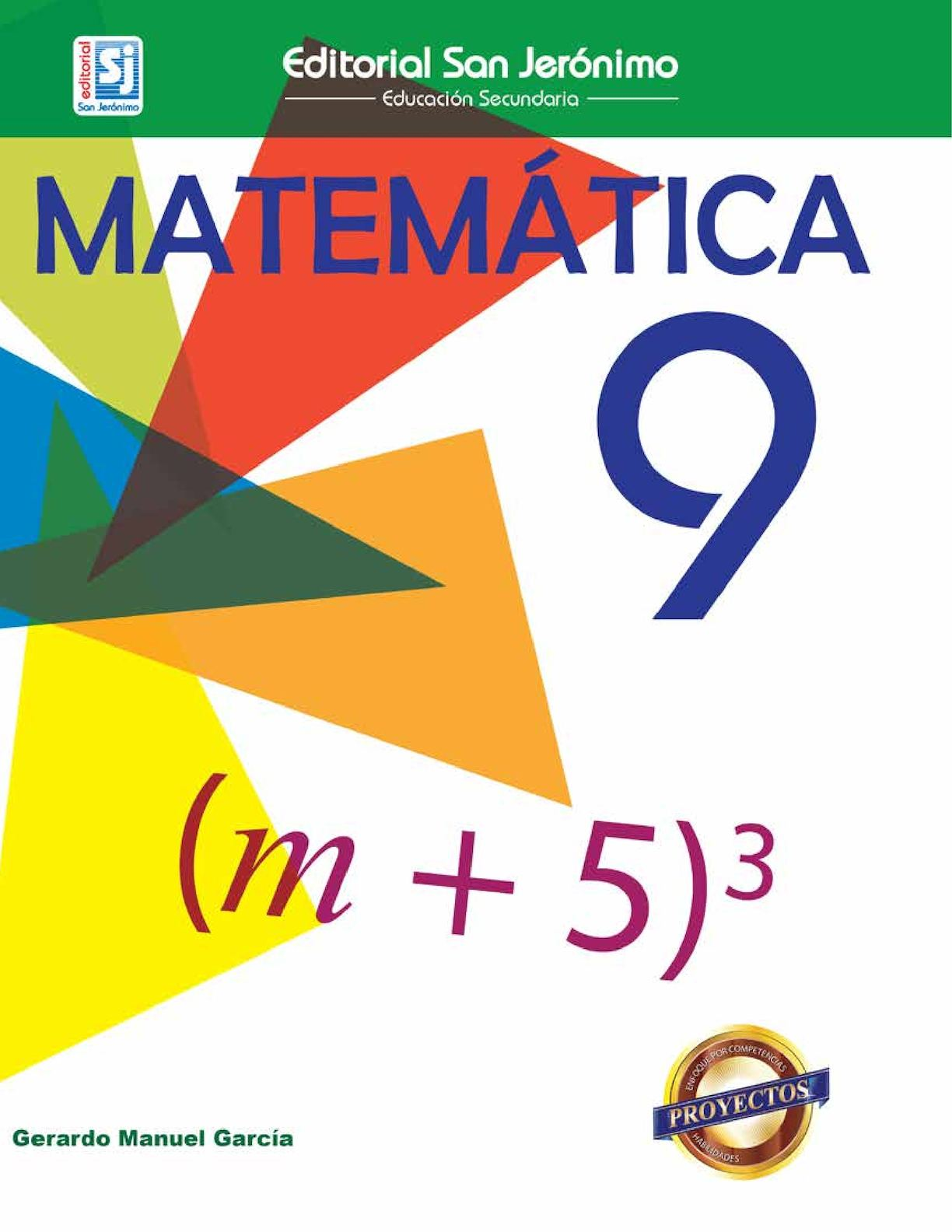 Matemática 9no Grado