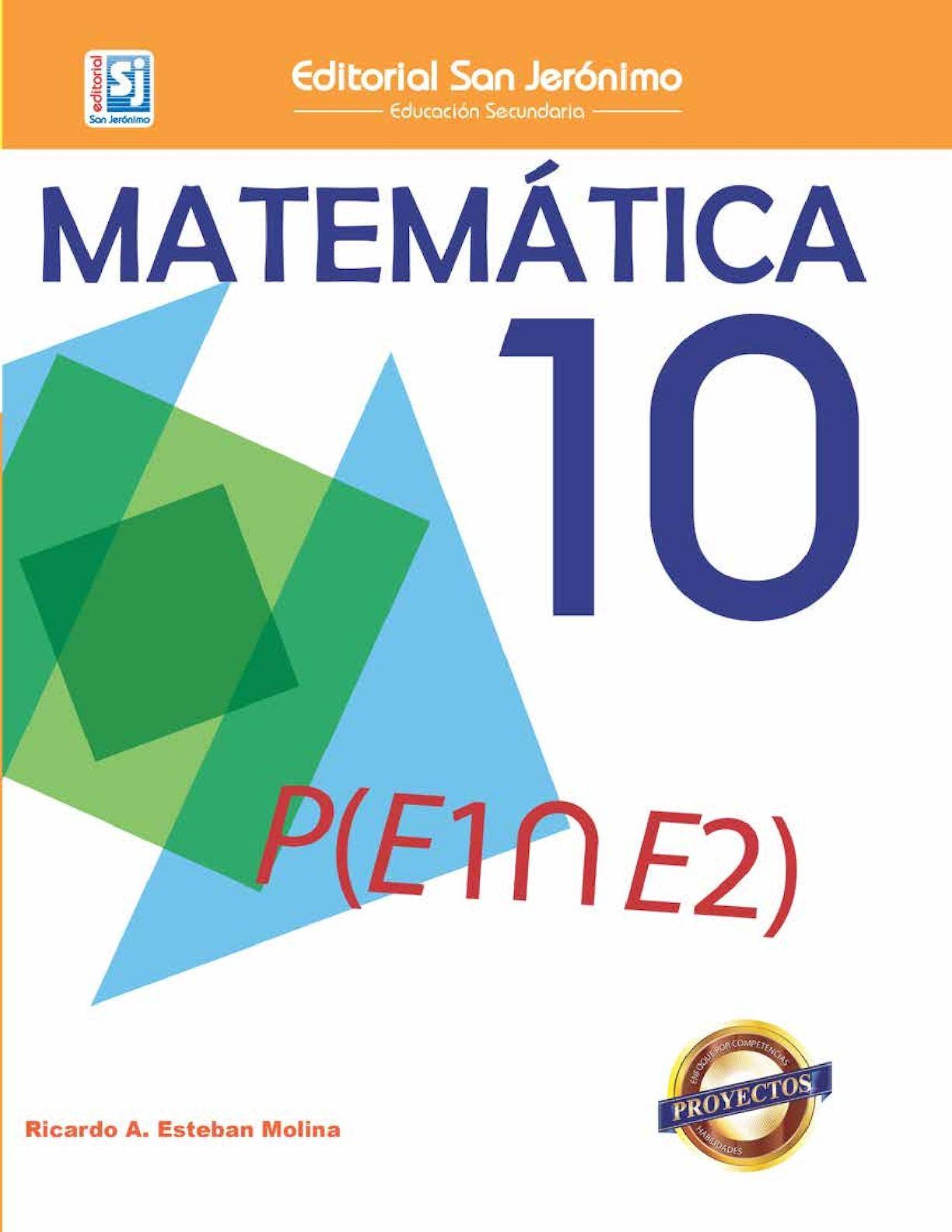 Matemática 10mo Grado