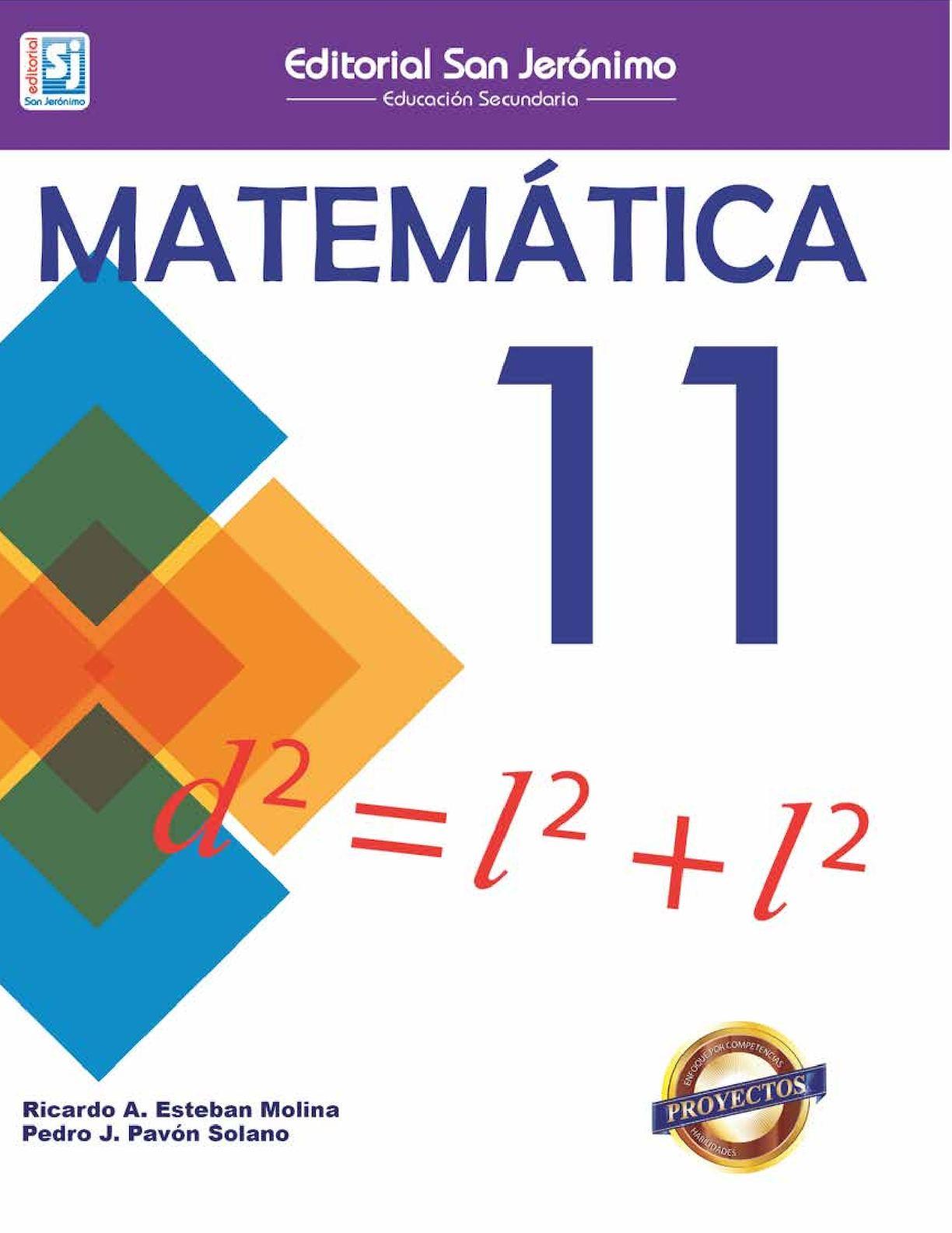 Matemática 11vo Grado