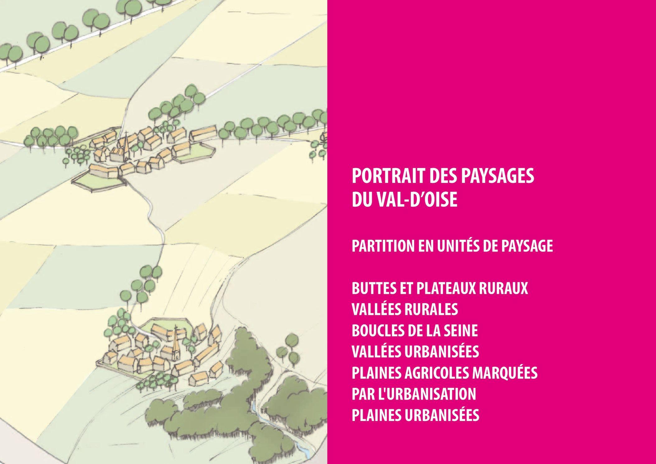 Atlas des Paysages I Portraits des paysages du Val-d'Oise