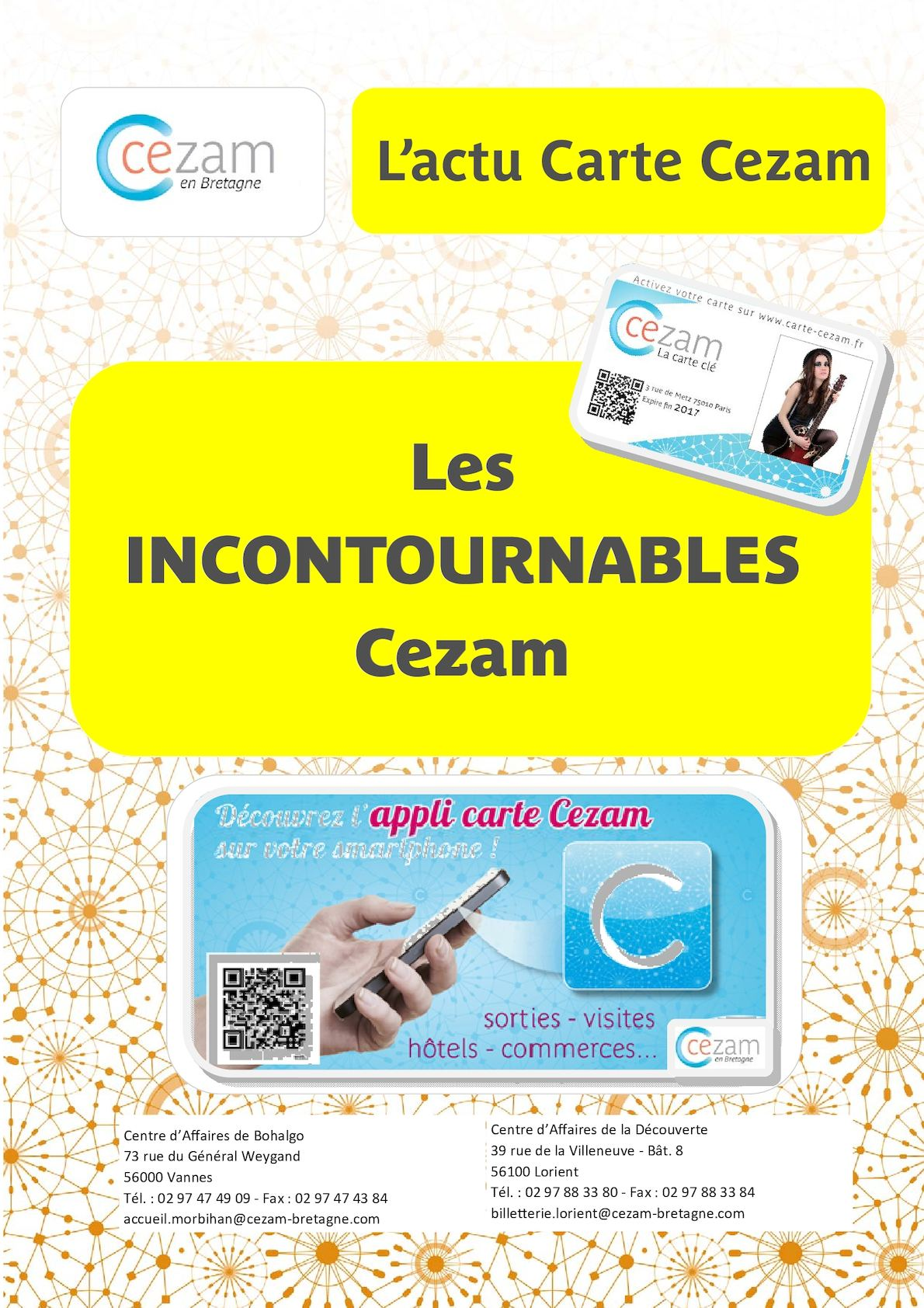 Carte Cezam Bretagne.Calameo Livret Salaries X 16