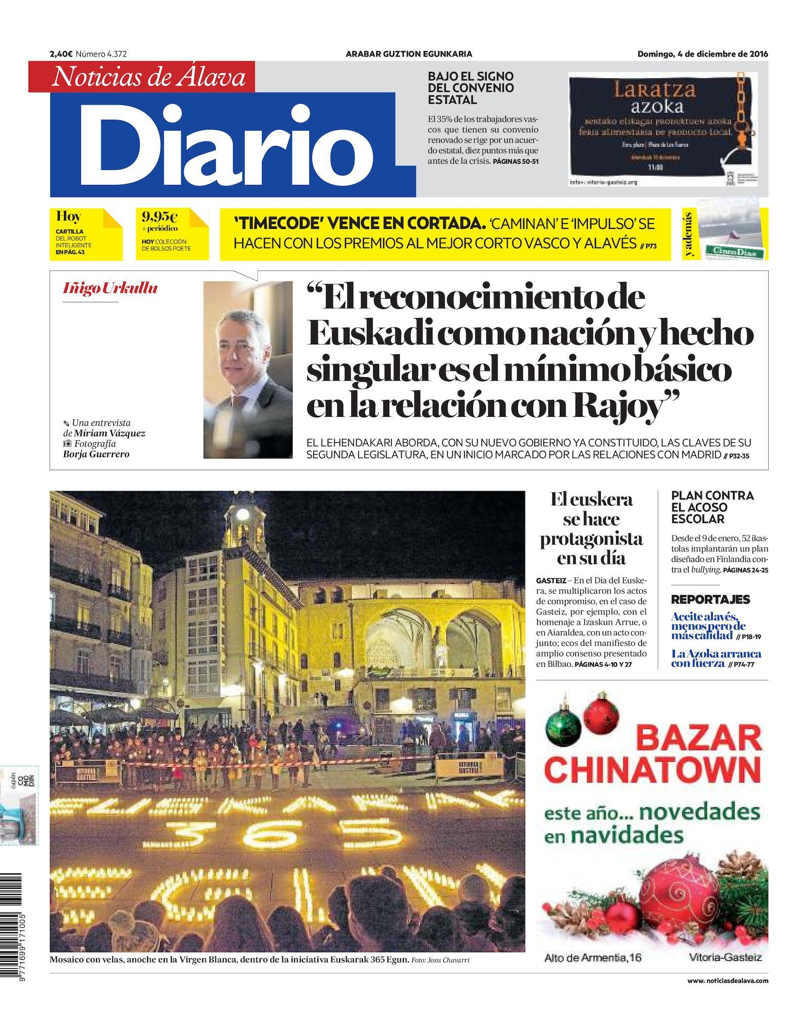 4a893c1e48887 Calaméo - Diario de Noticias de Álava 20161204