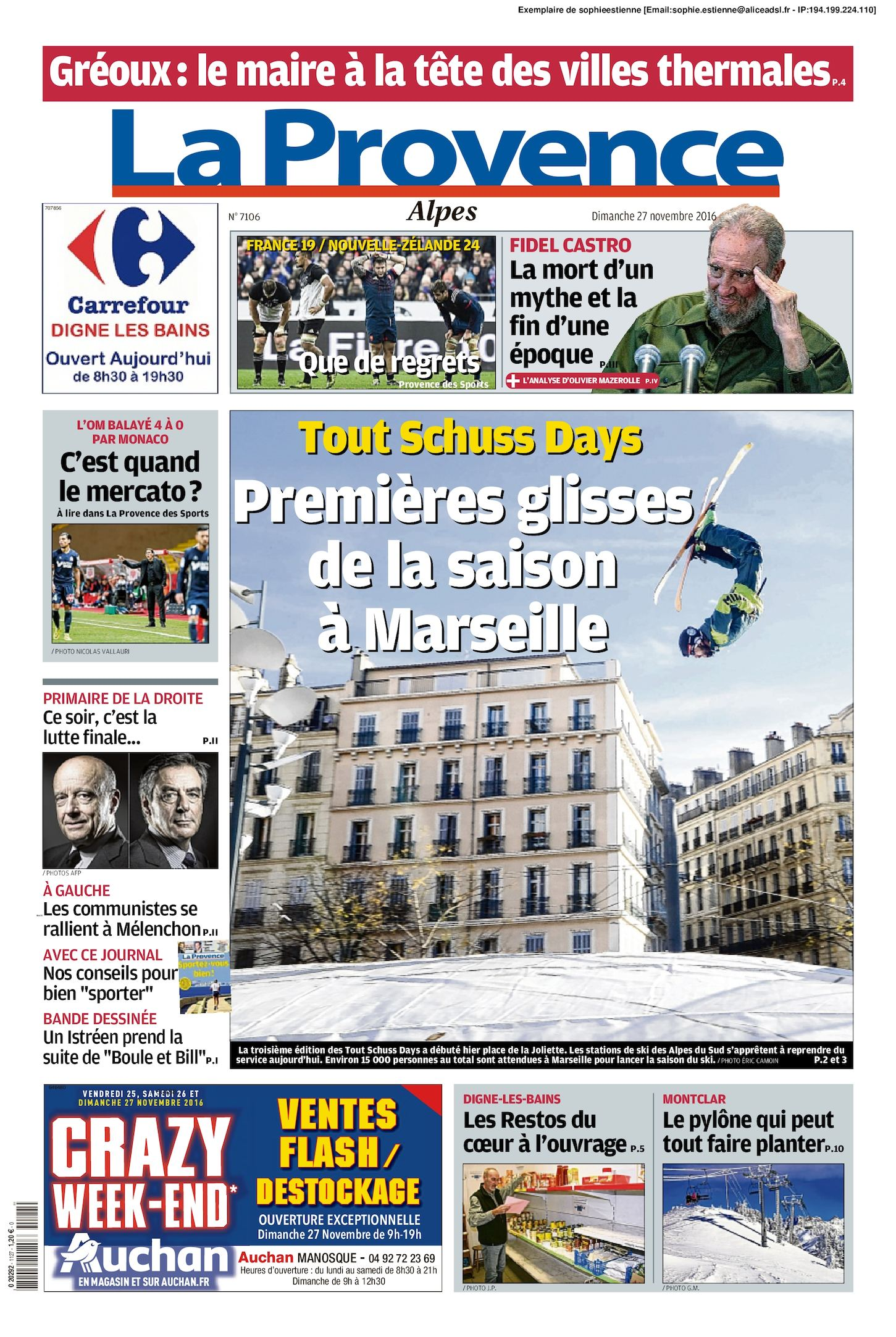 Calaméo La Provence Edition Alpes Du 2016 11 27